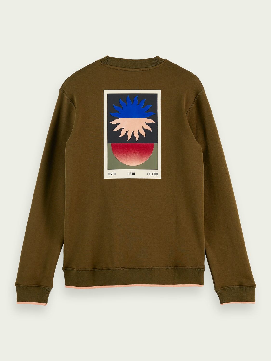 Men Tapestry graphic sweater