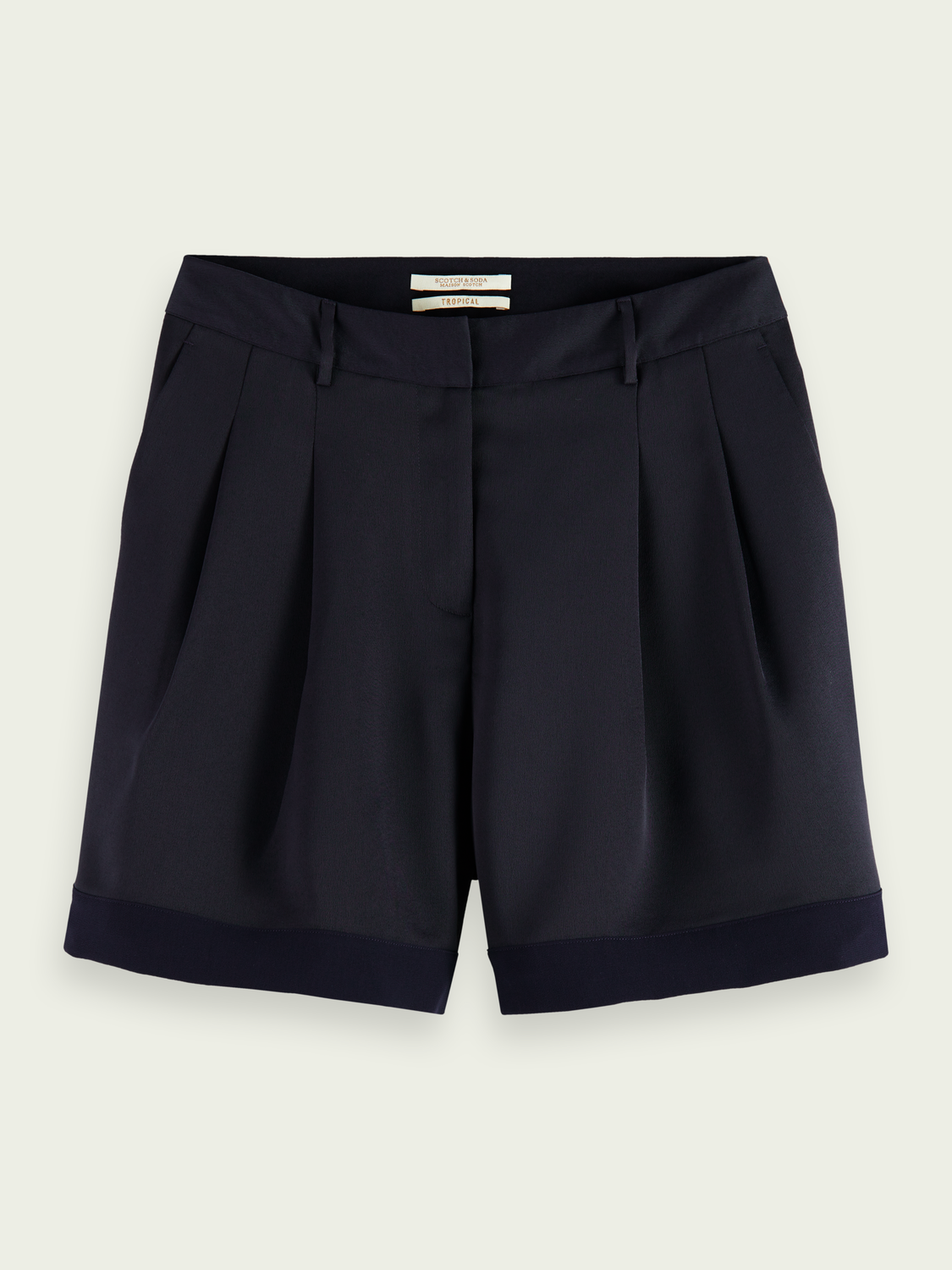 Women Longer length tailored shorts