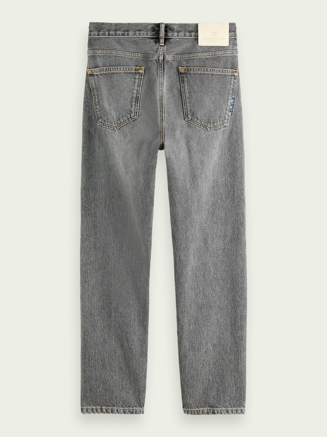 Men The Norm high-rise jeans ─ Grey Smoke