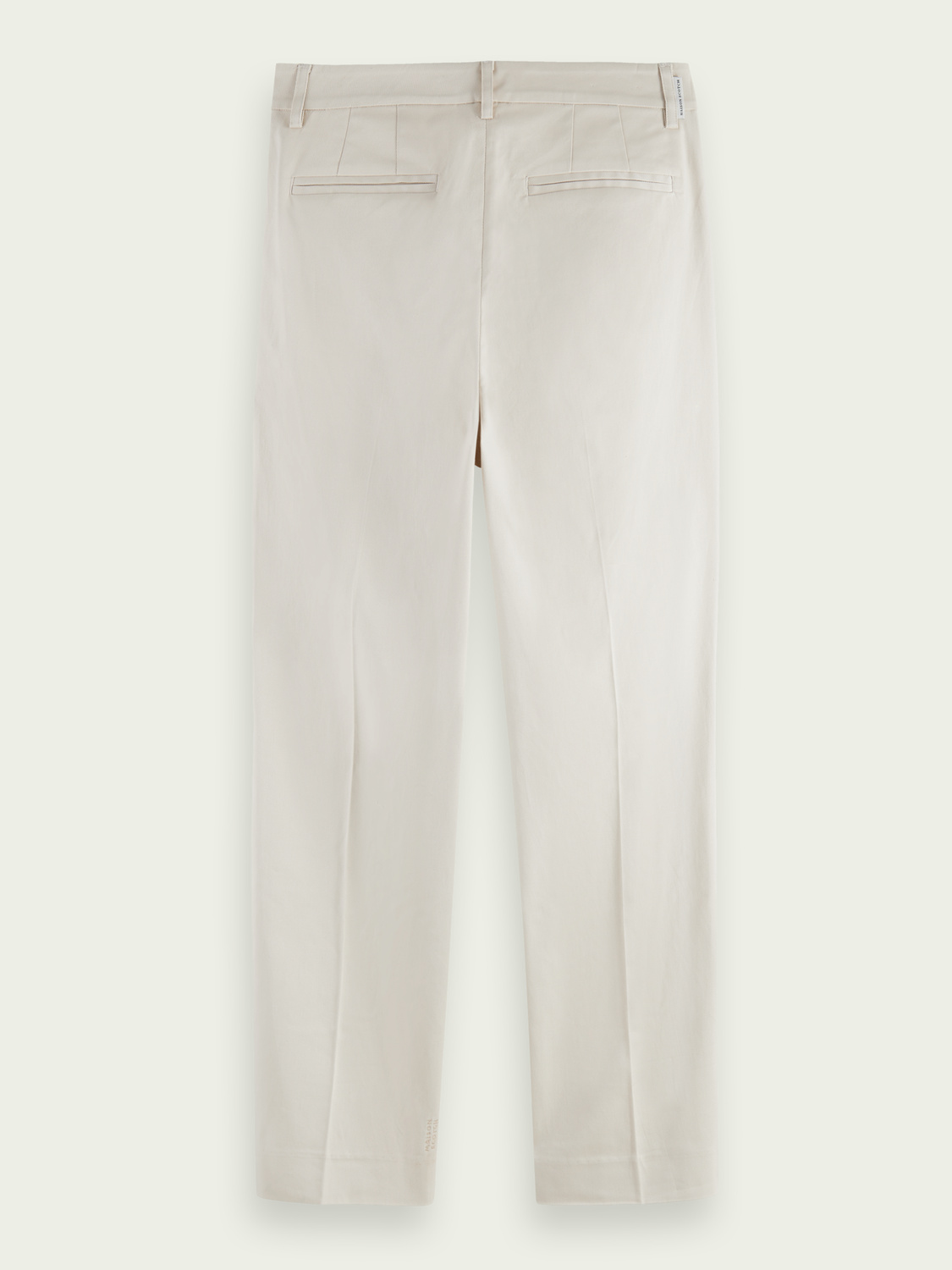 Dames Abbott regular fit chino