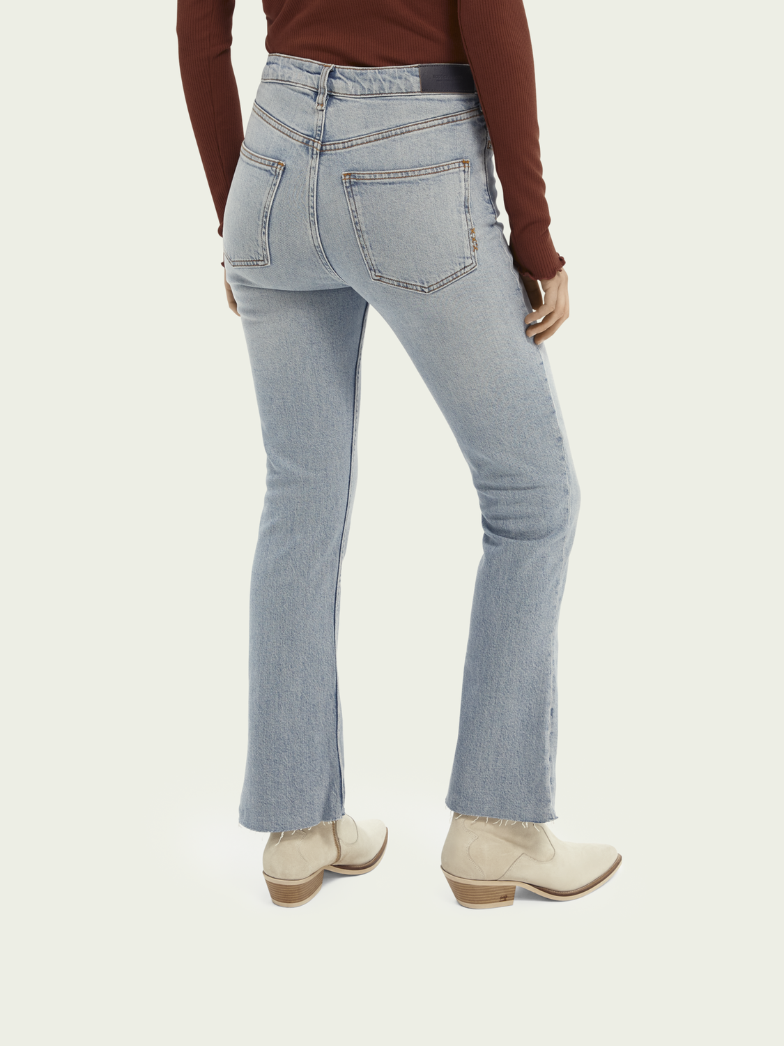 Women The Kick cropped flared jeans  — Don't Look Back