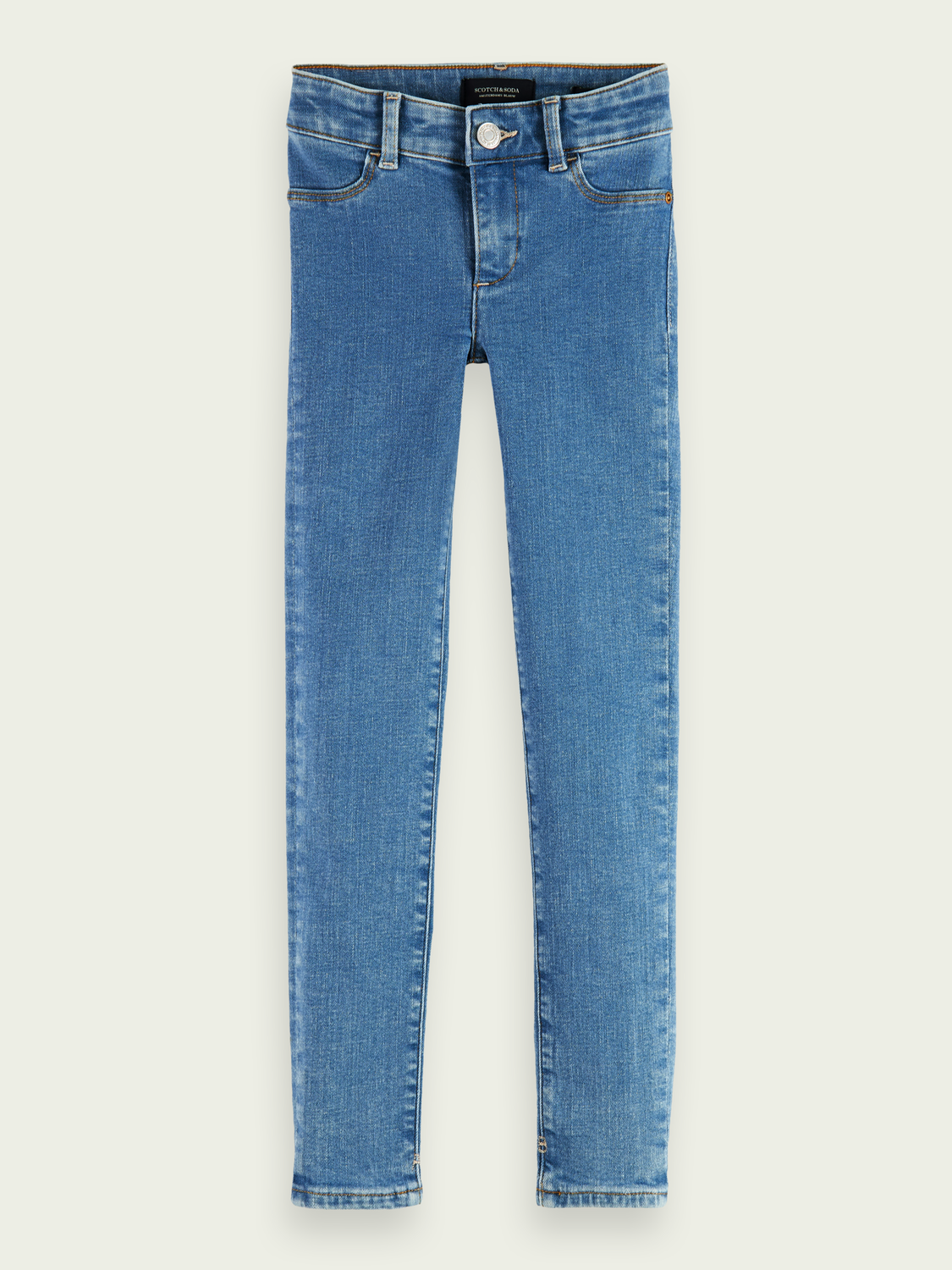 Kids La Milou super-skinny fit jeans - Angel Mist