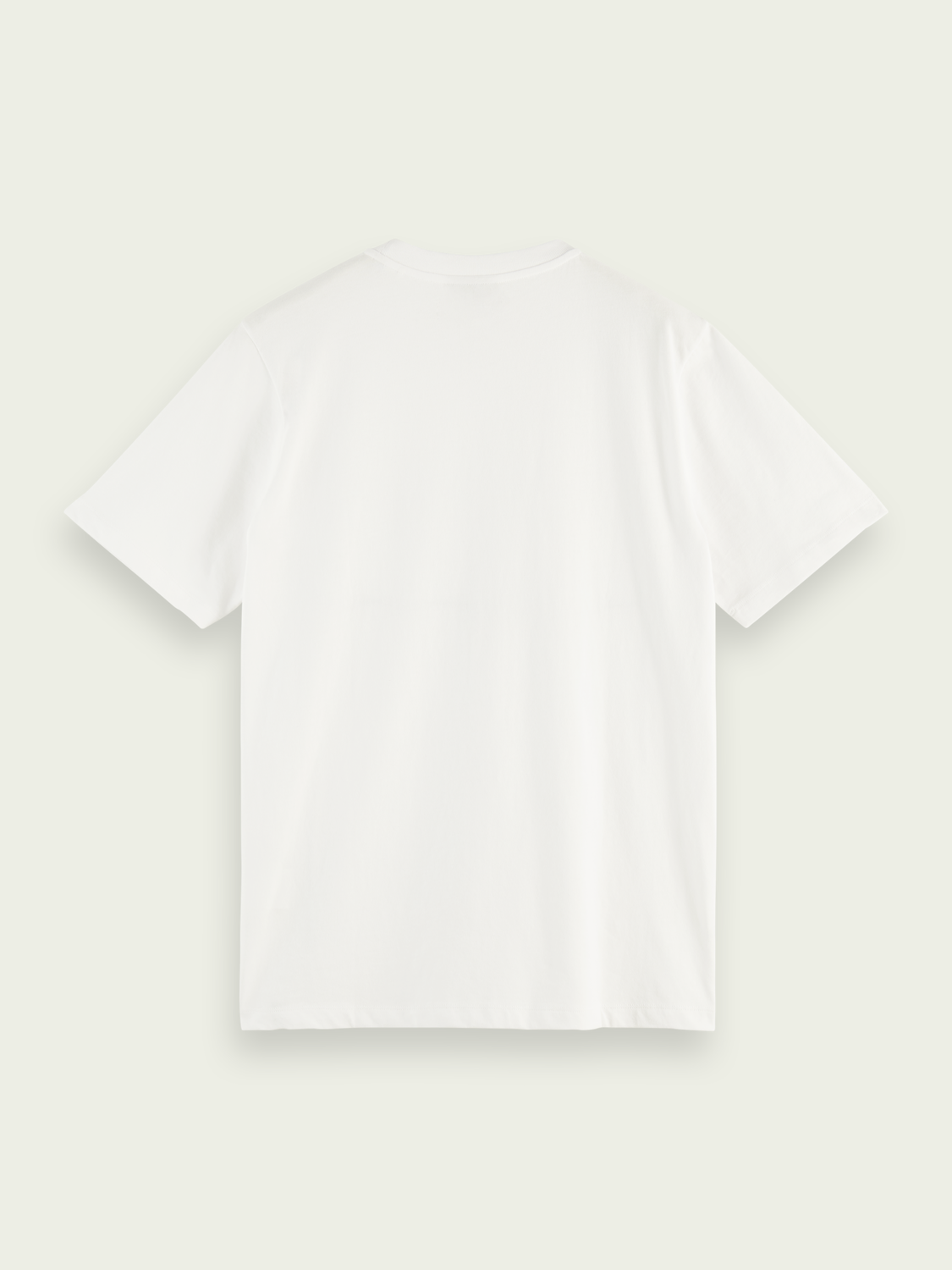 Men Cotton jersey logo T-shirt