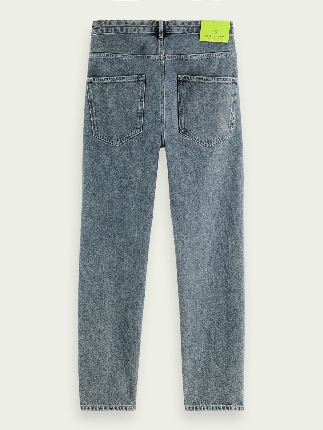 Men Extra loose recycled cotton jeans - Wipe Out