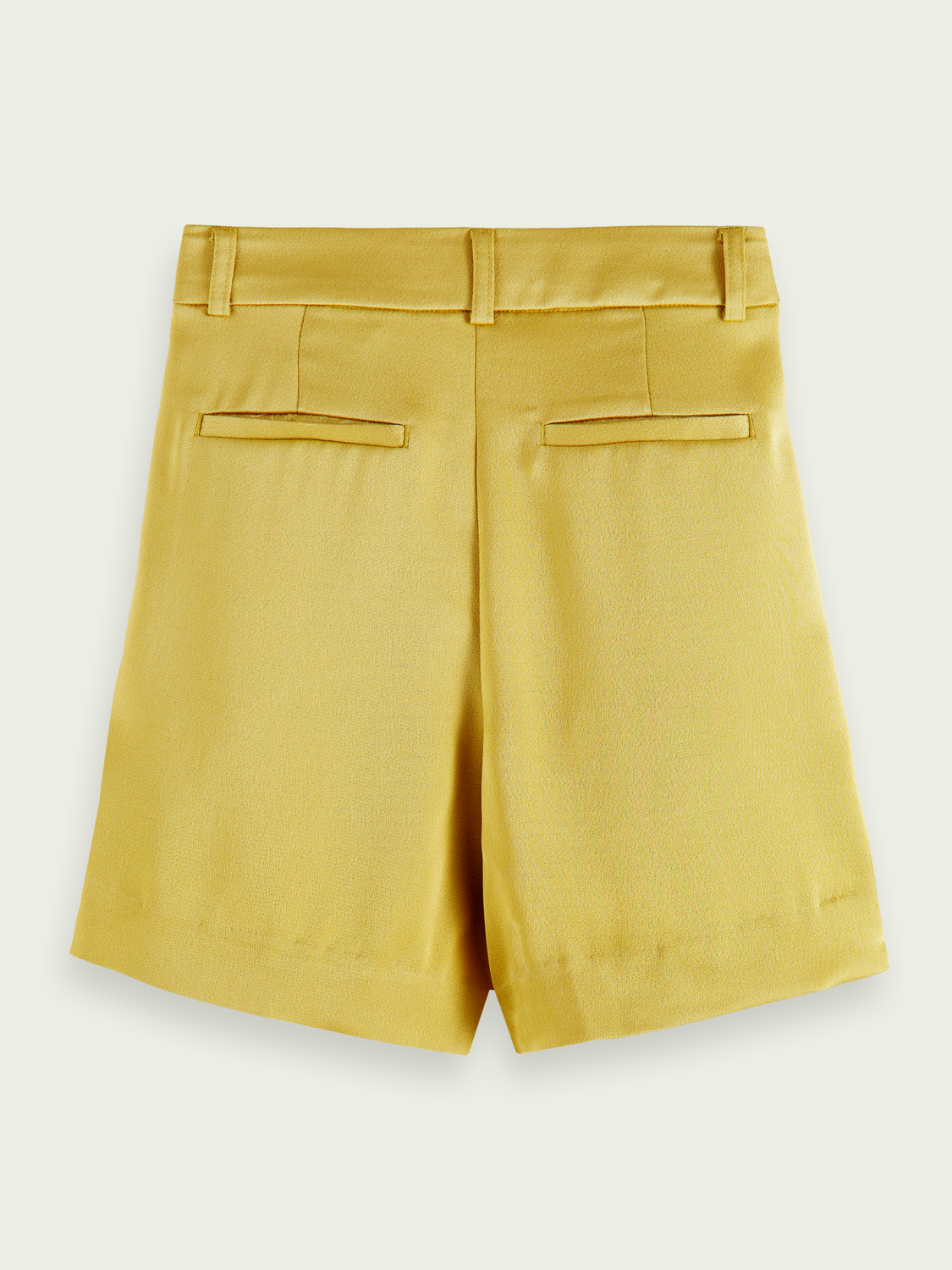 Kids High-waisted drapey shorts