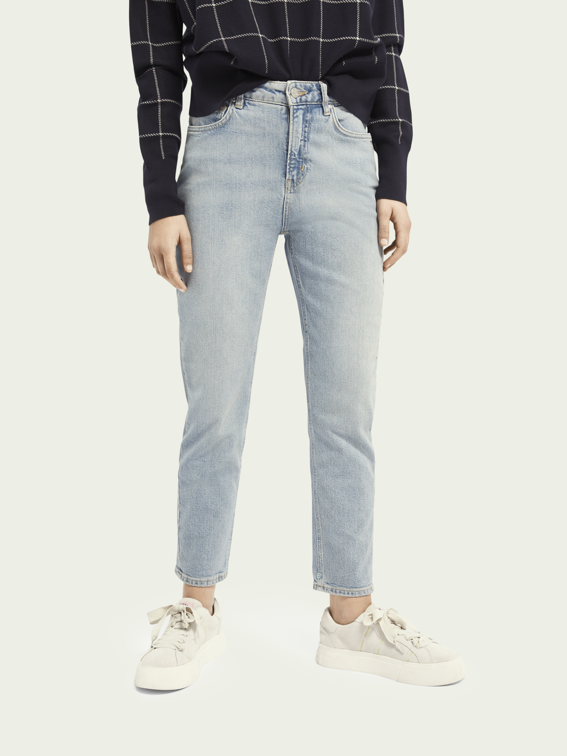 Women High Five high-rise slim-leg jeans - Cool Water