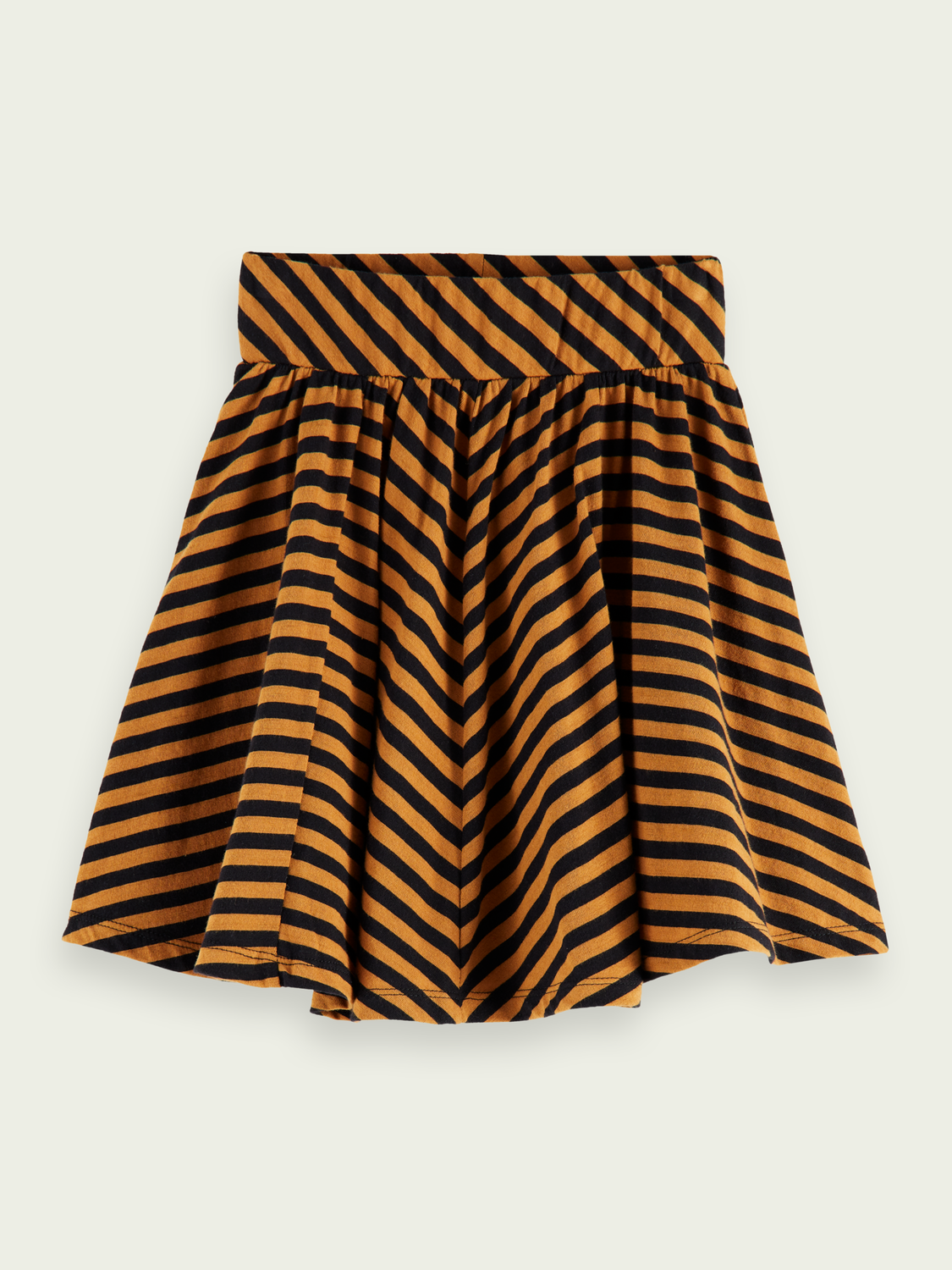 Kids Striped jersey short skirt