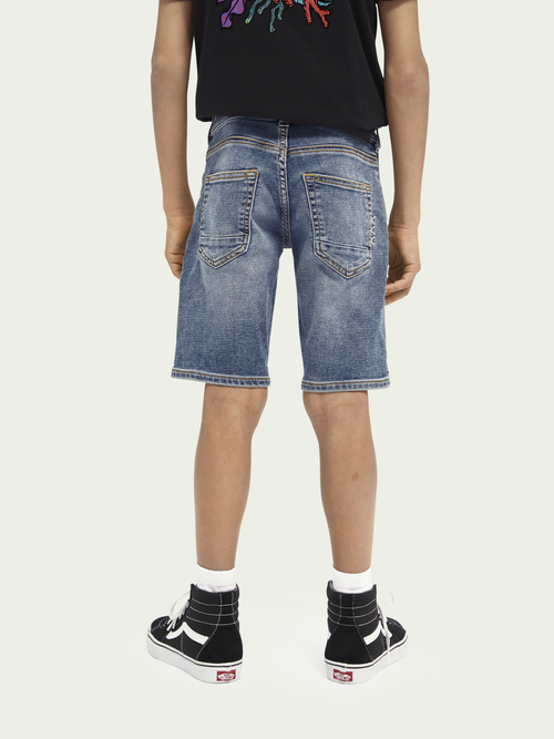 Scotch & Soda Strummer Short - Weathered Blue Light