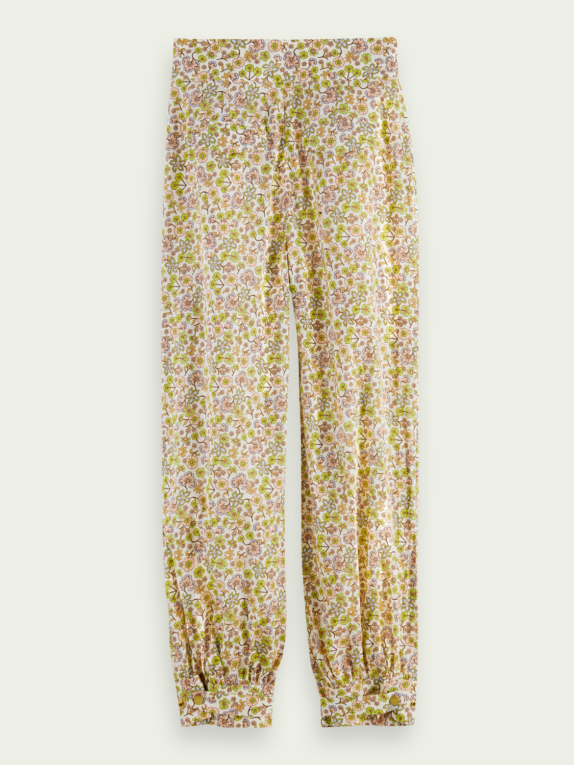 Women Printed organic cotton trousers