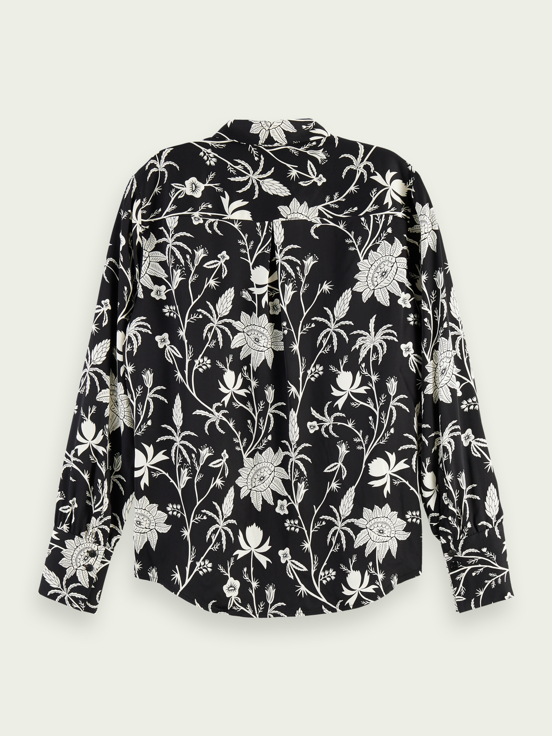 Women Button-down printed shirt