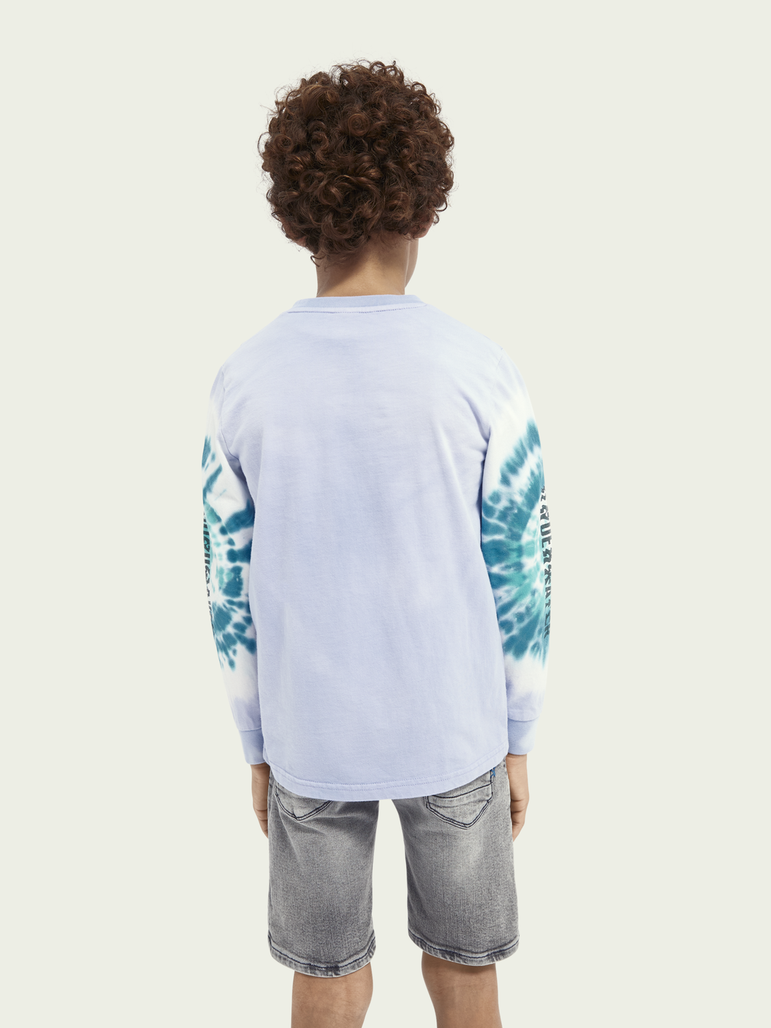 Kids Tie-dye cotton top