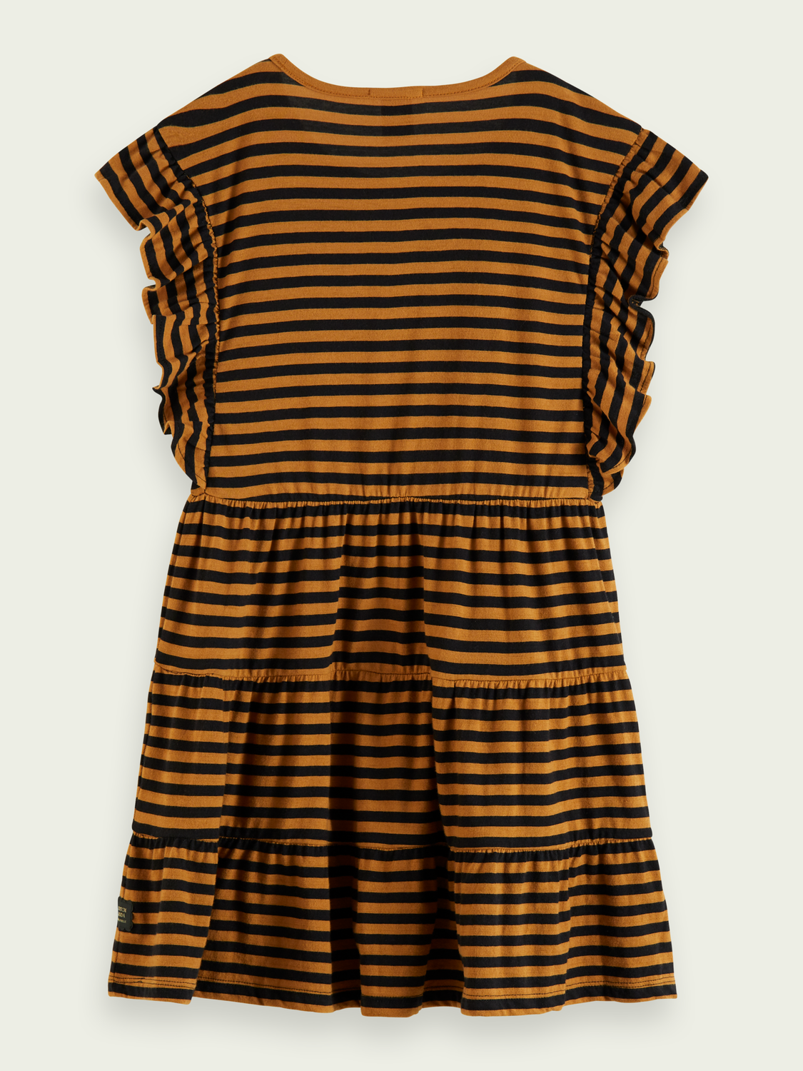 Kids Striped A-line jersey dress