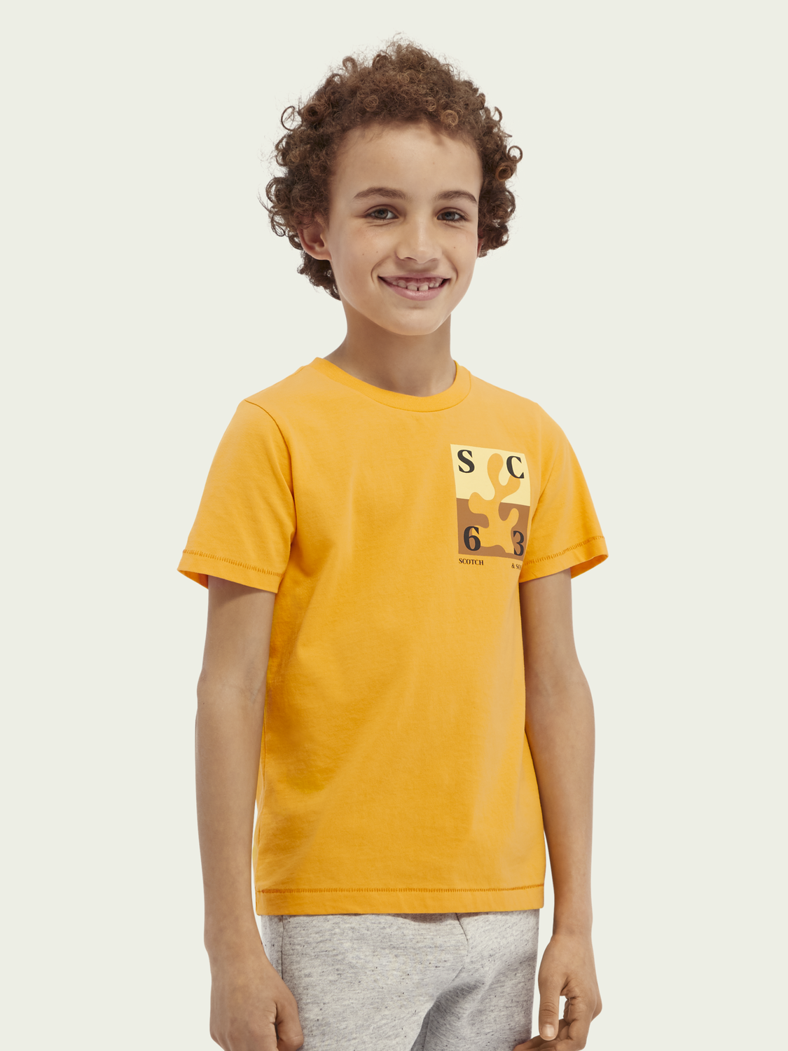 Kids Short-sleeved organic cotton T-shirt