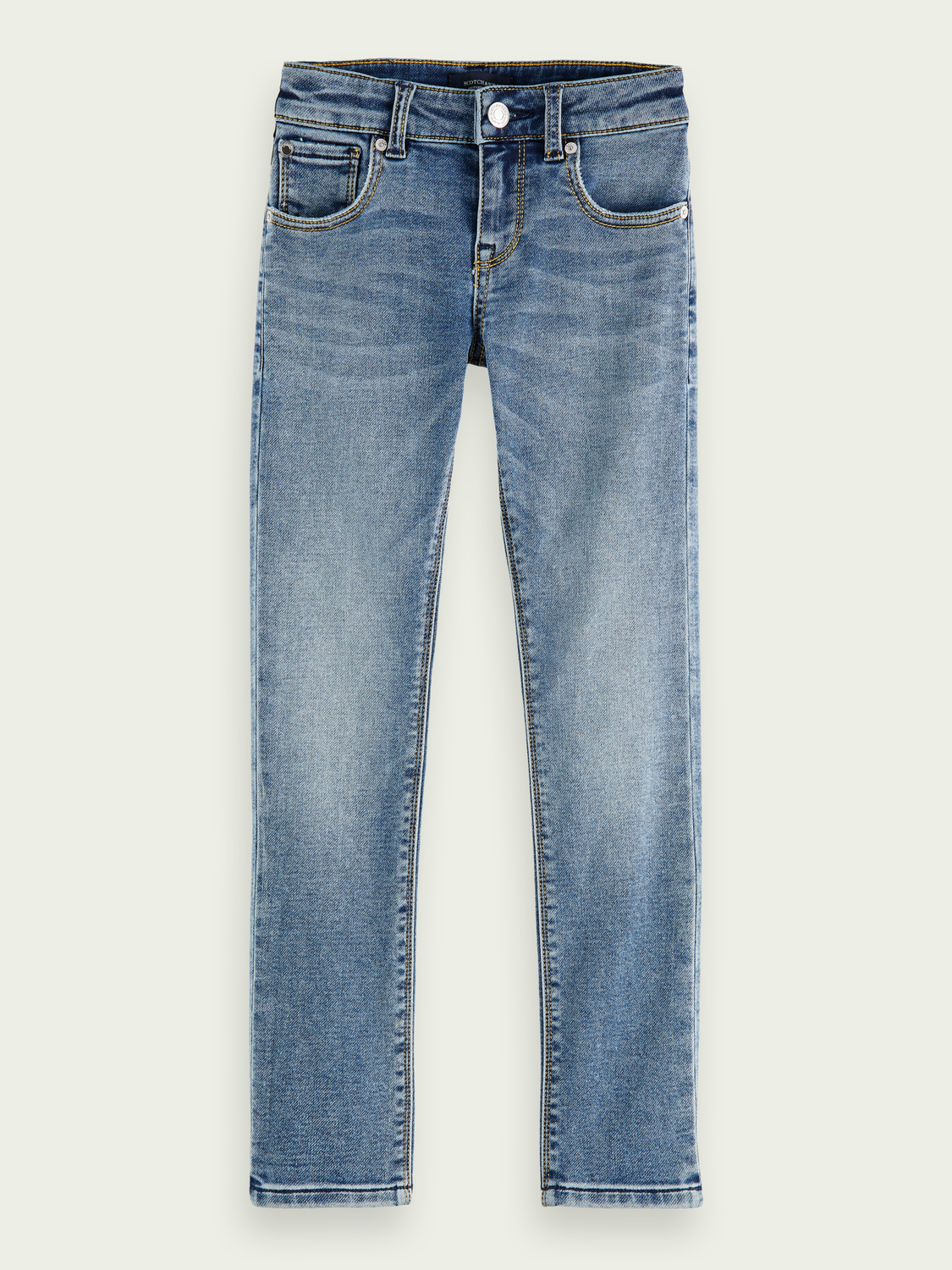 Kinder Tigger Super Skinny Mid Rise Jeans – Weathered Blue Light