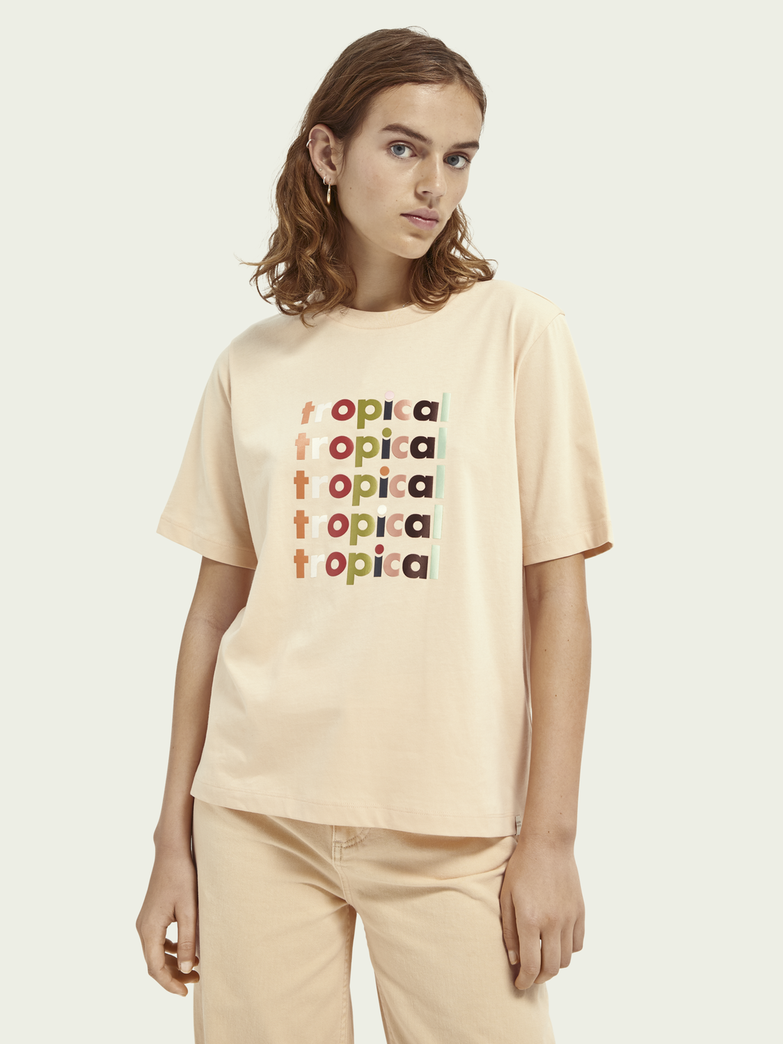 Women Boxy fit graphic T-shirt