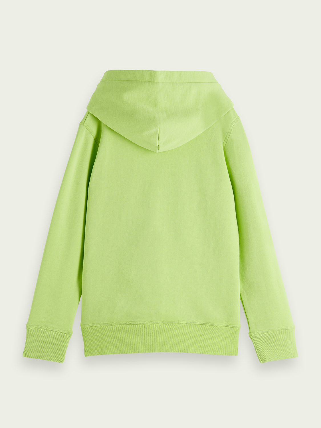 Kids Gradient graphic cotton hoodie