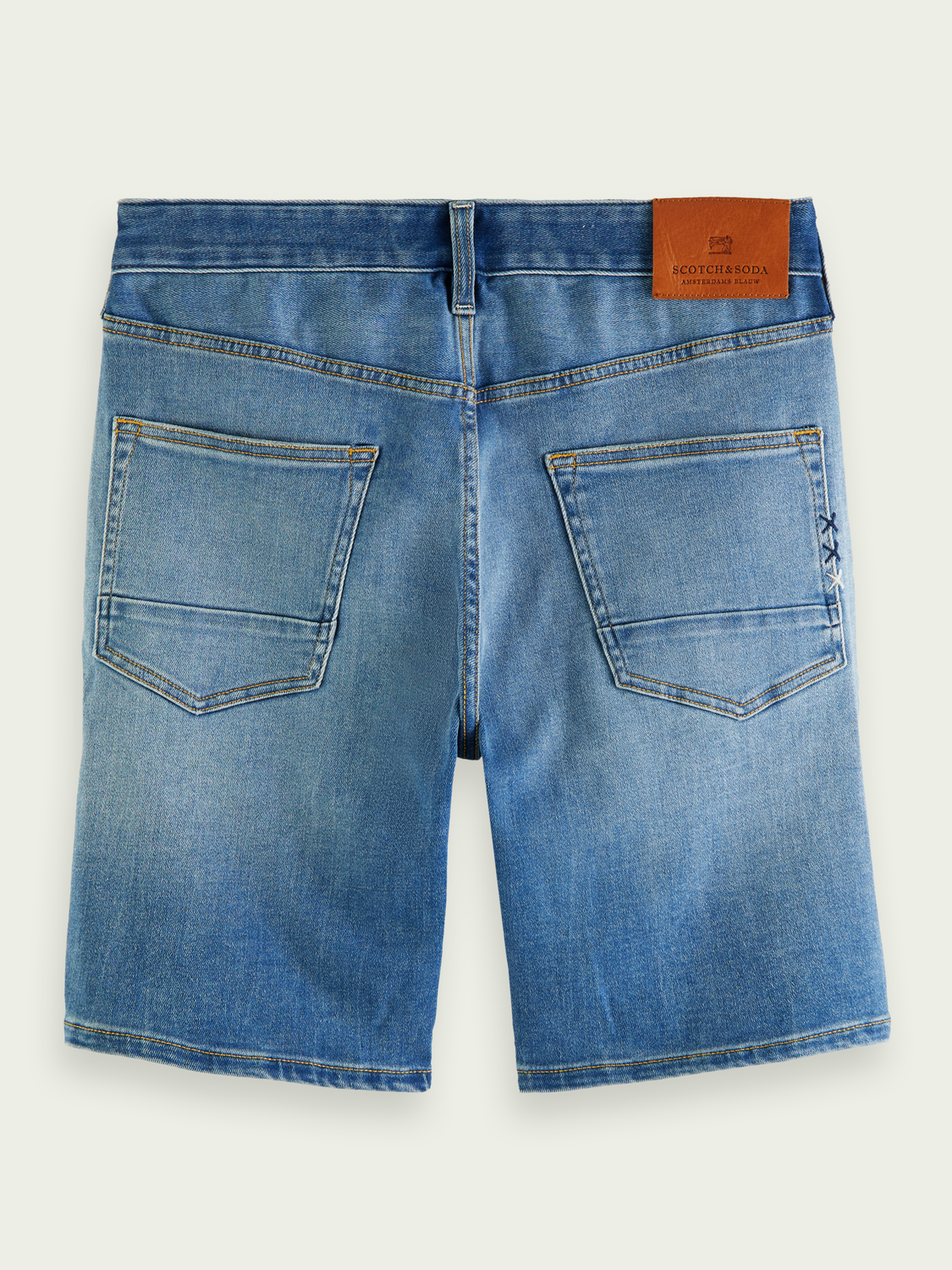 Men Ralston denim short - Fast Mover