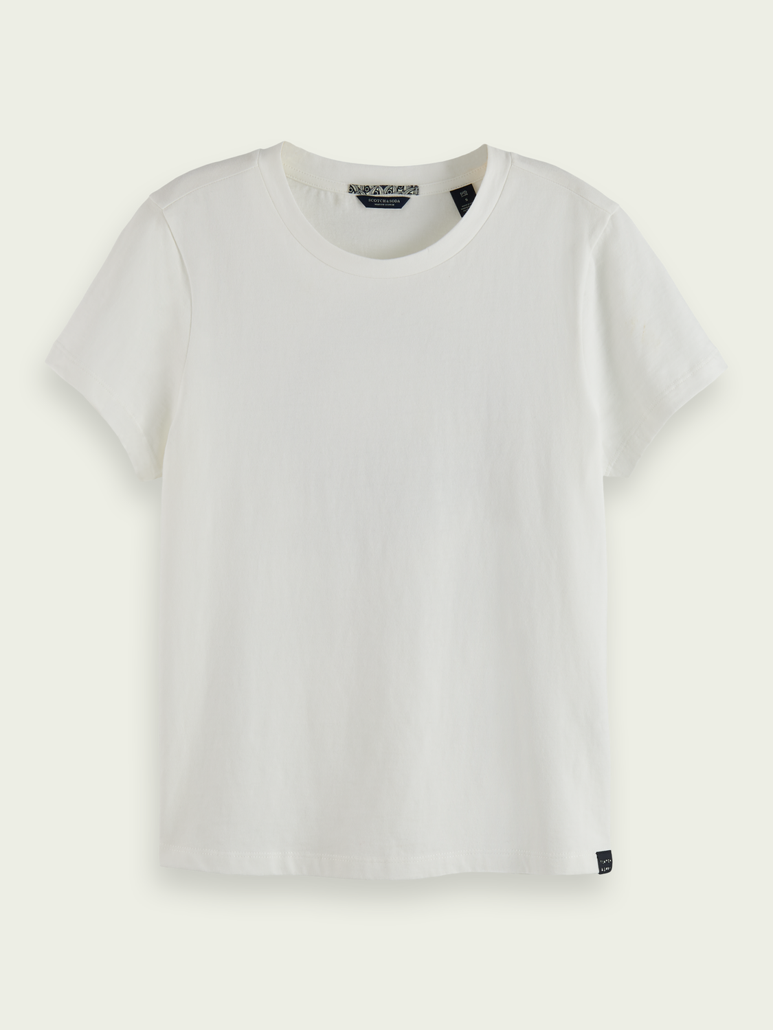 Women Round neck logo T-shirt