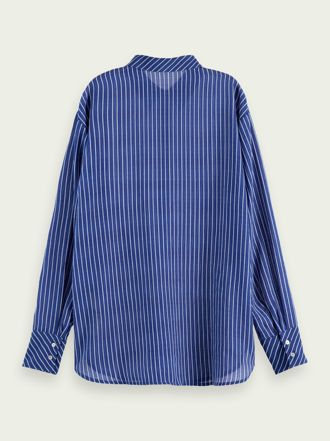 Women Loose fit stripe shirt