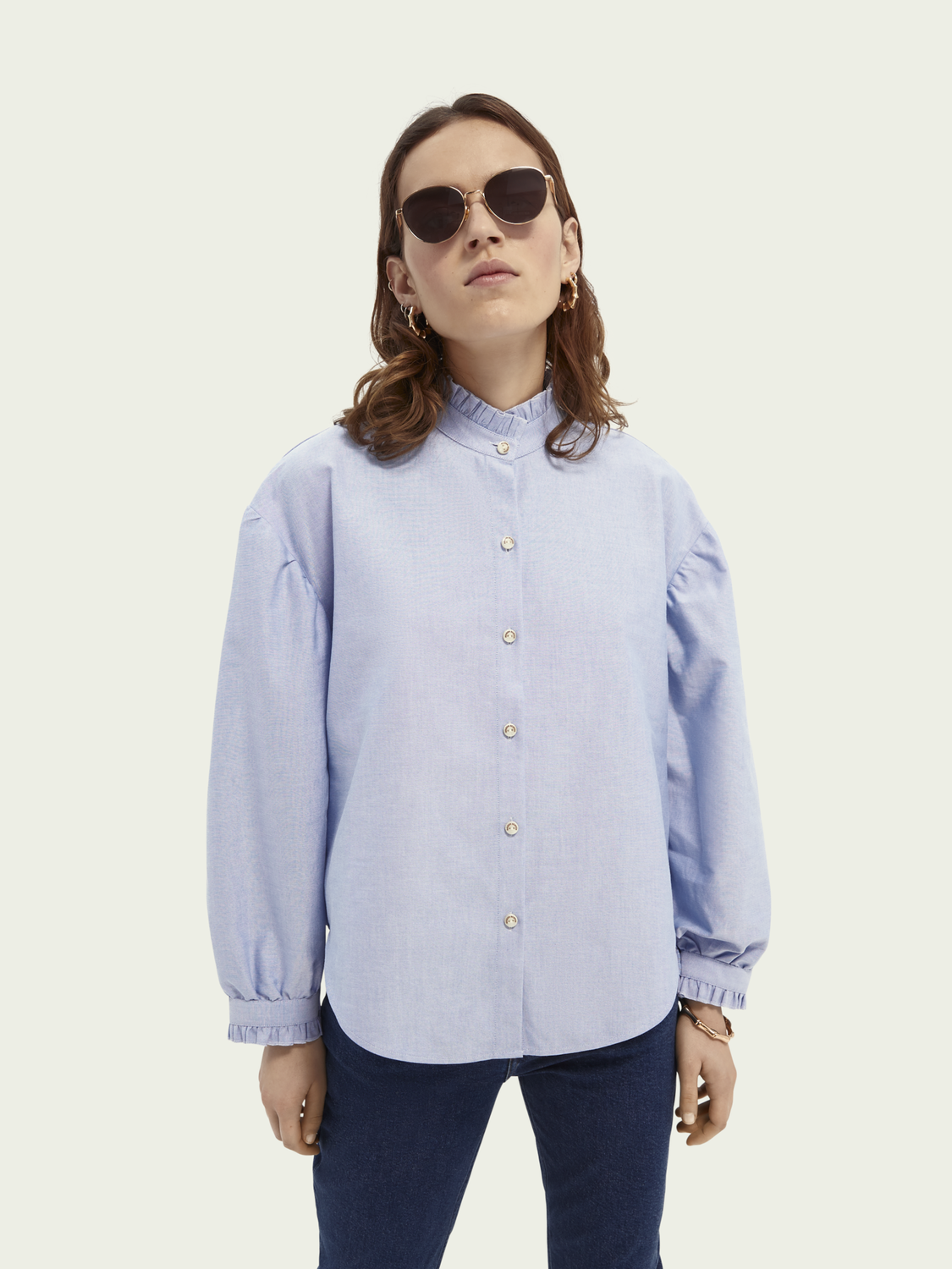 Women Boxy-fit oxford quality shirt