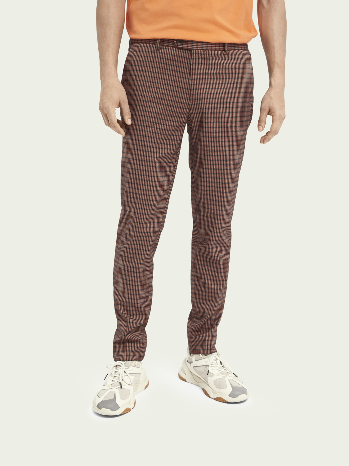Men Mott classic yarn-dyed chino