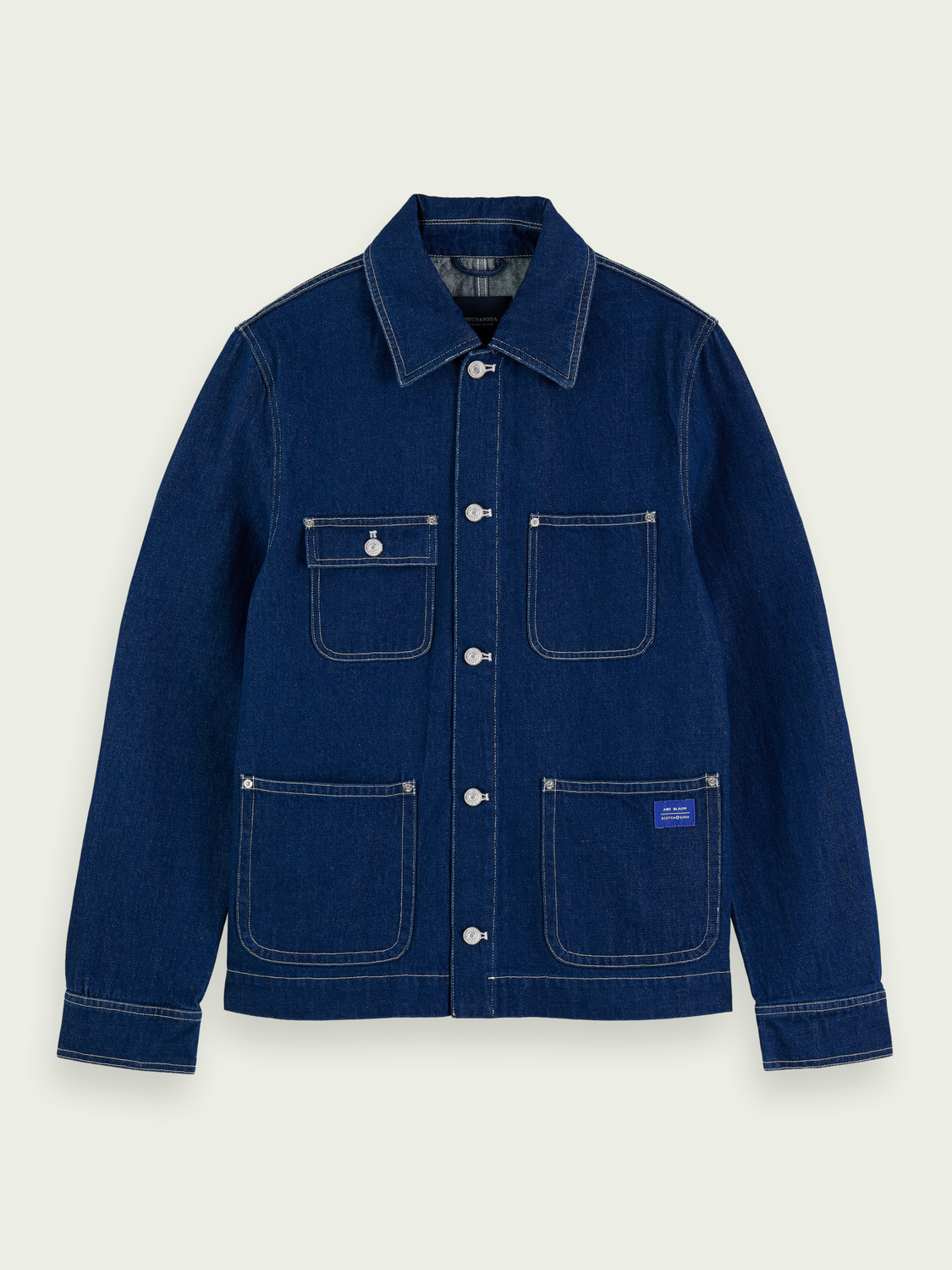 Men Denim workwear jacket