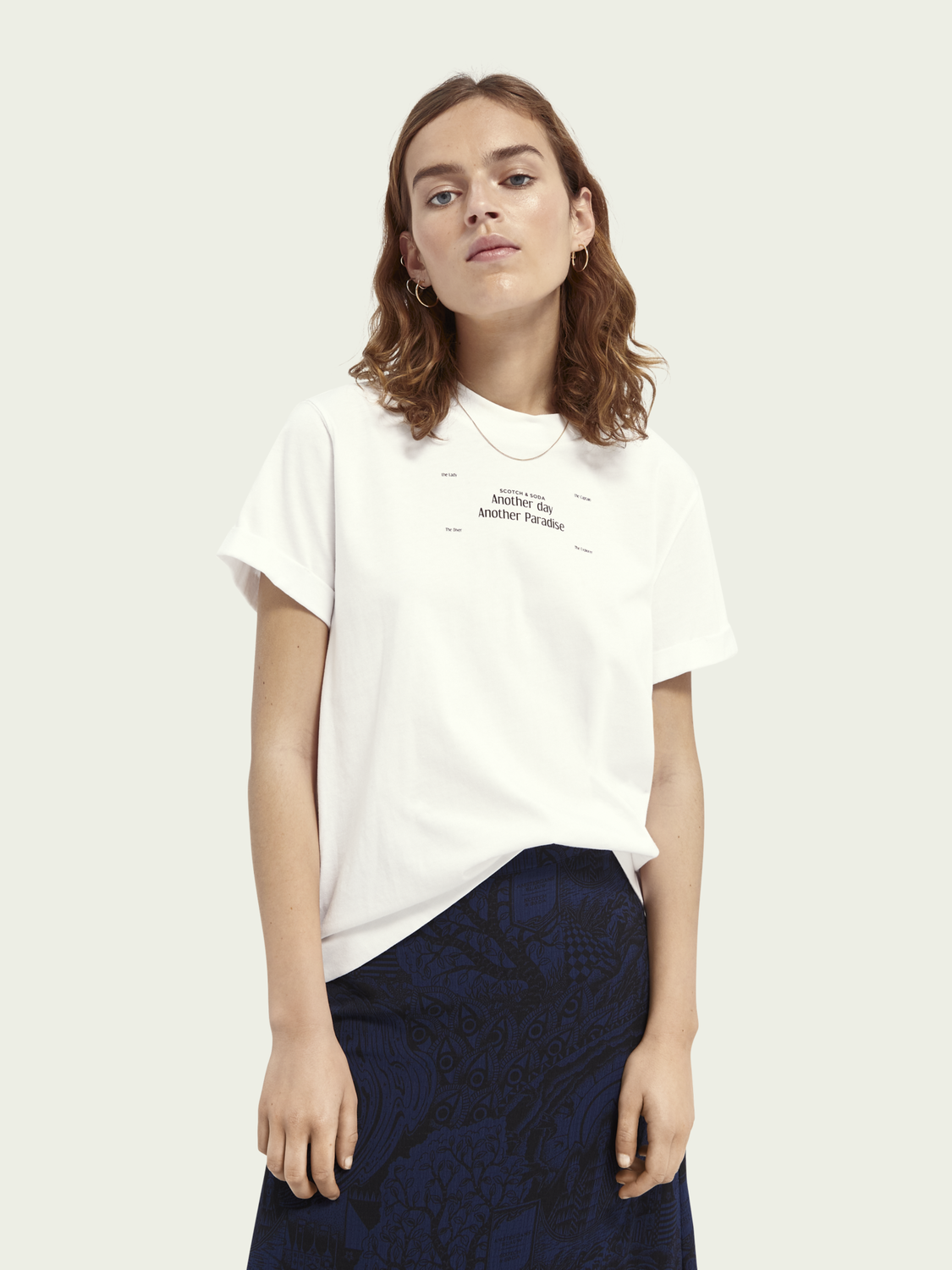Women Graphic relaxed-fit T-shirt