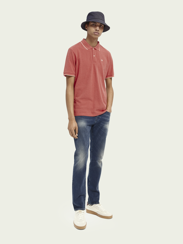 Herren Ralston Regular Slim Fit Jeans aus Bio-Baumwolle– Blue Daze