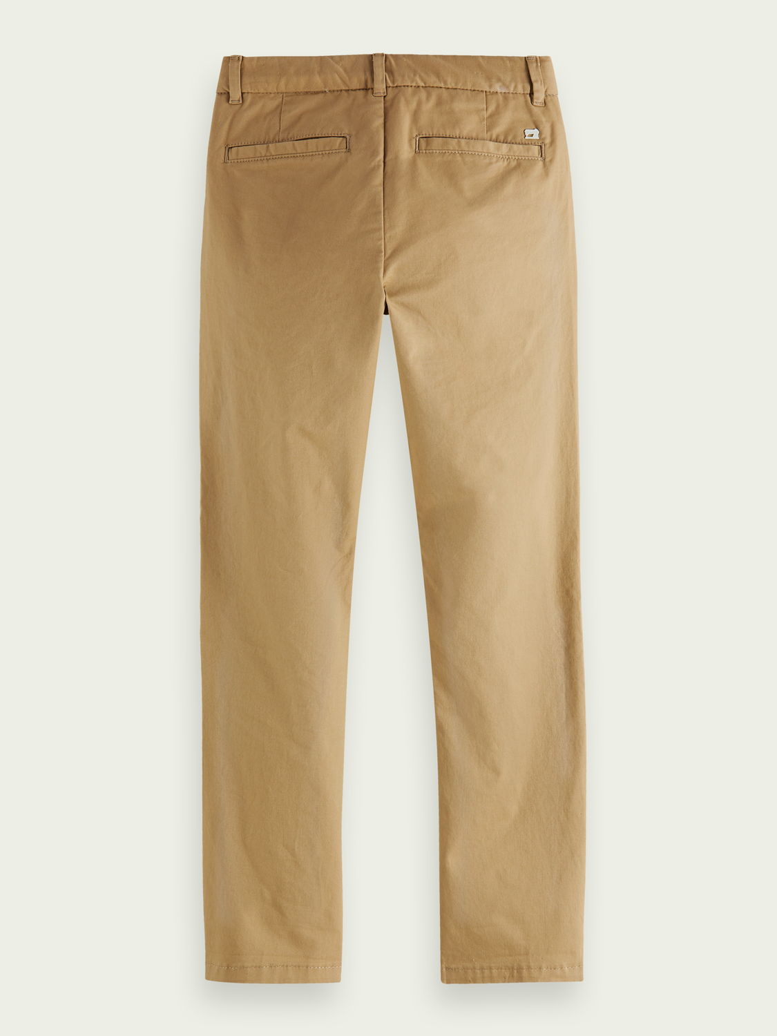 Barn Chinos i ekobomull med regular slim fit