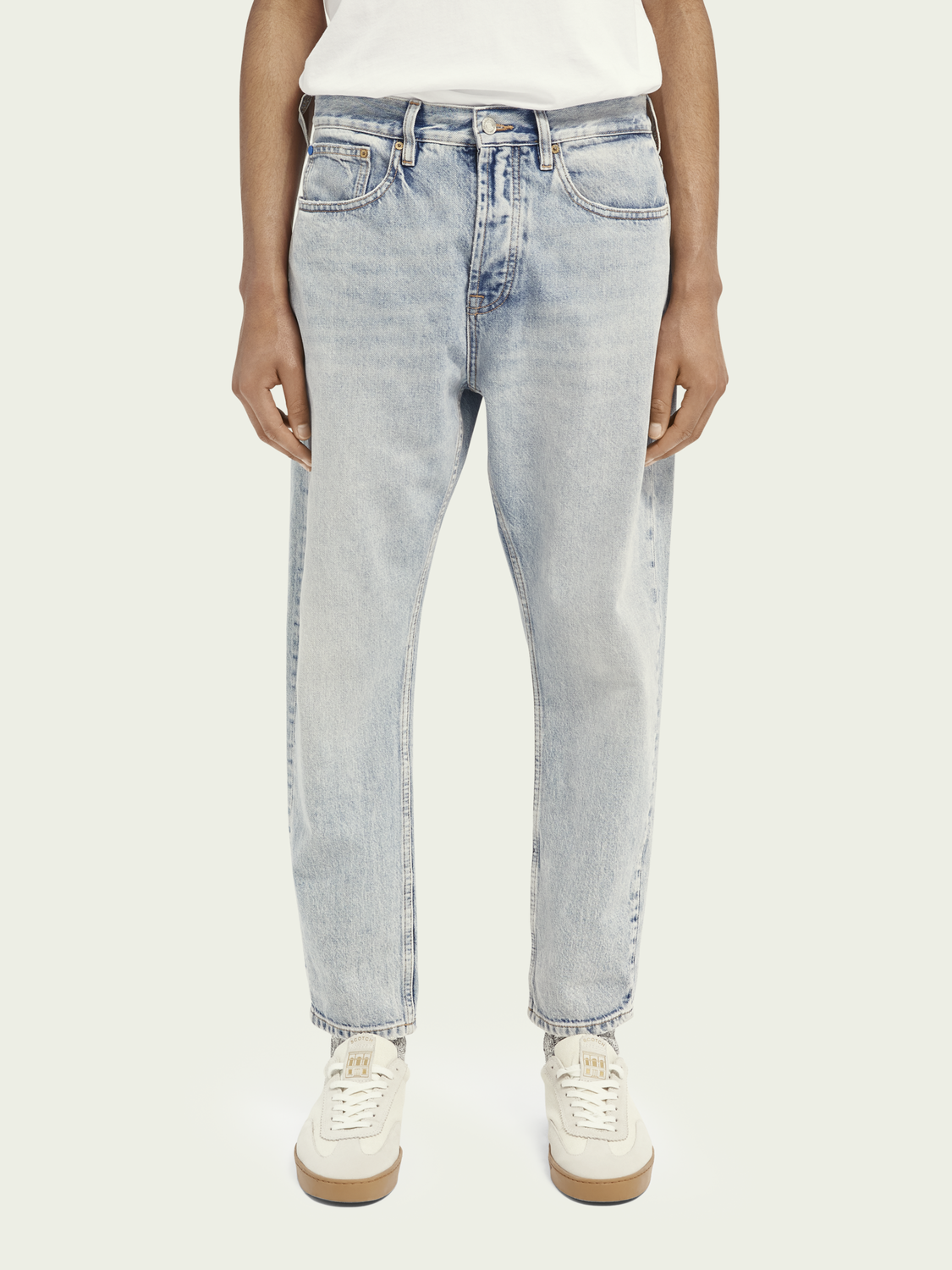 Men Dean loose tapered fit jeans ─ Another Chance