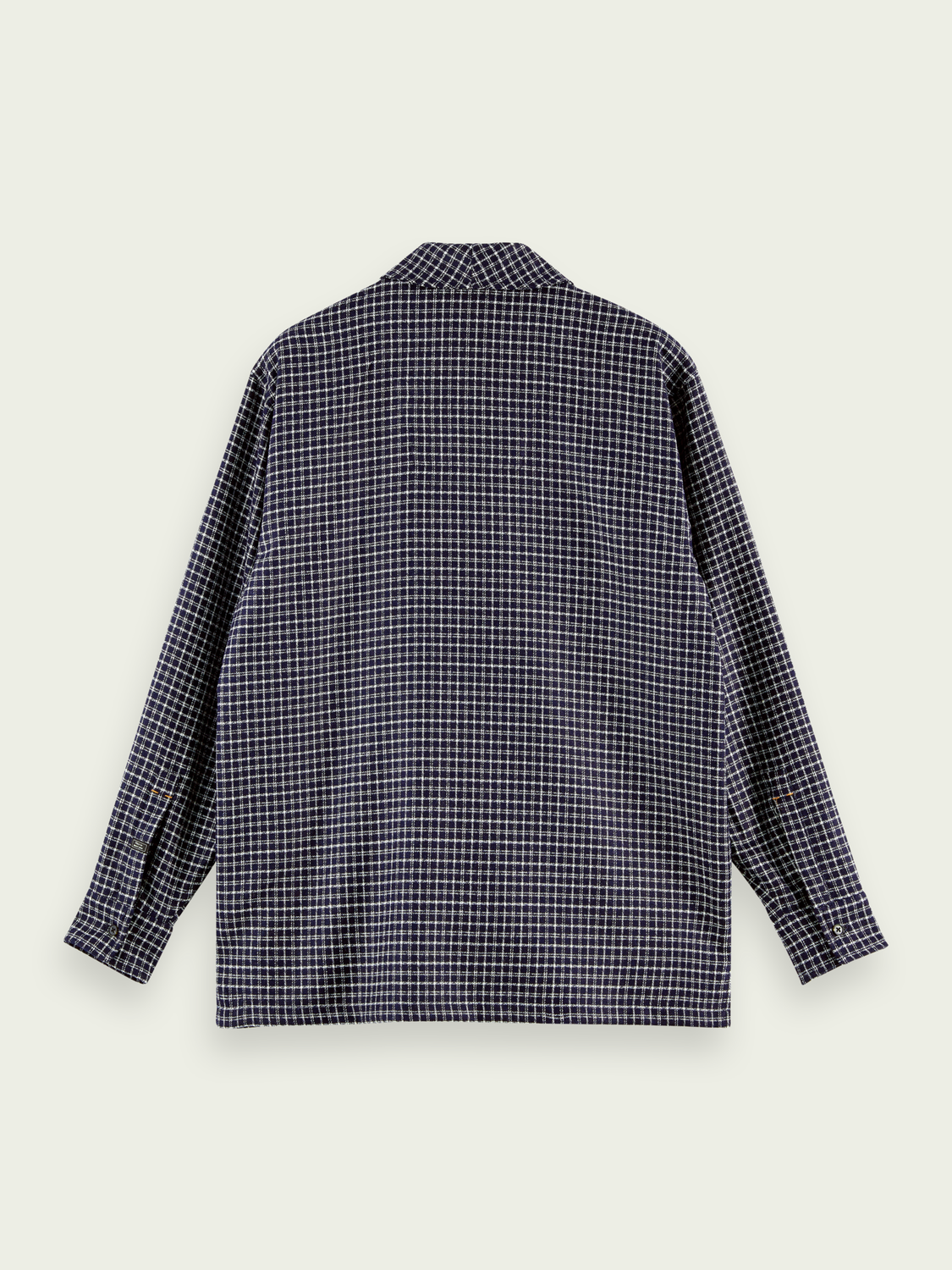 Men Wool-blend shawl collar over shirt