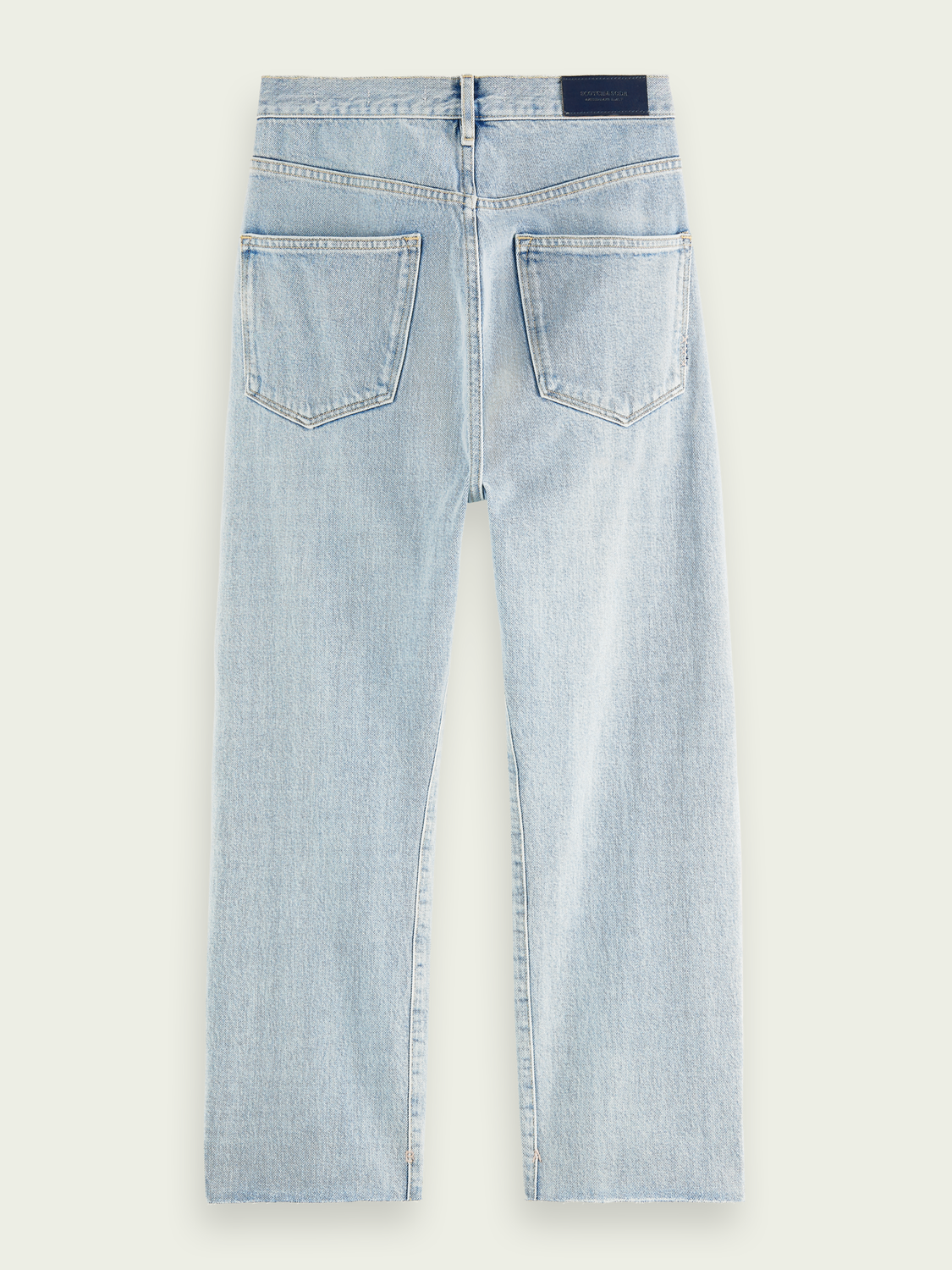 Women Extra Boyfriend Plus organic cotton jeans - Powder Blue