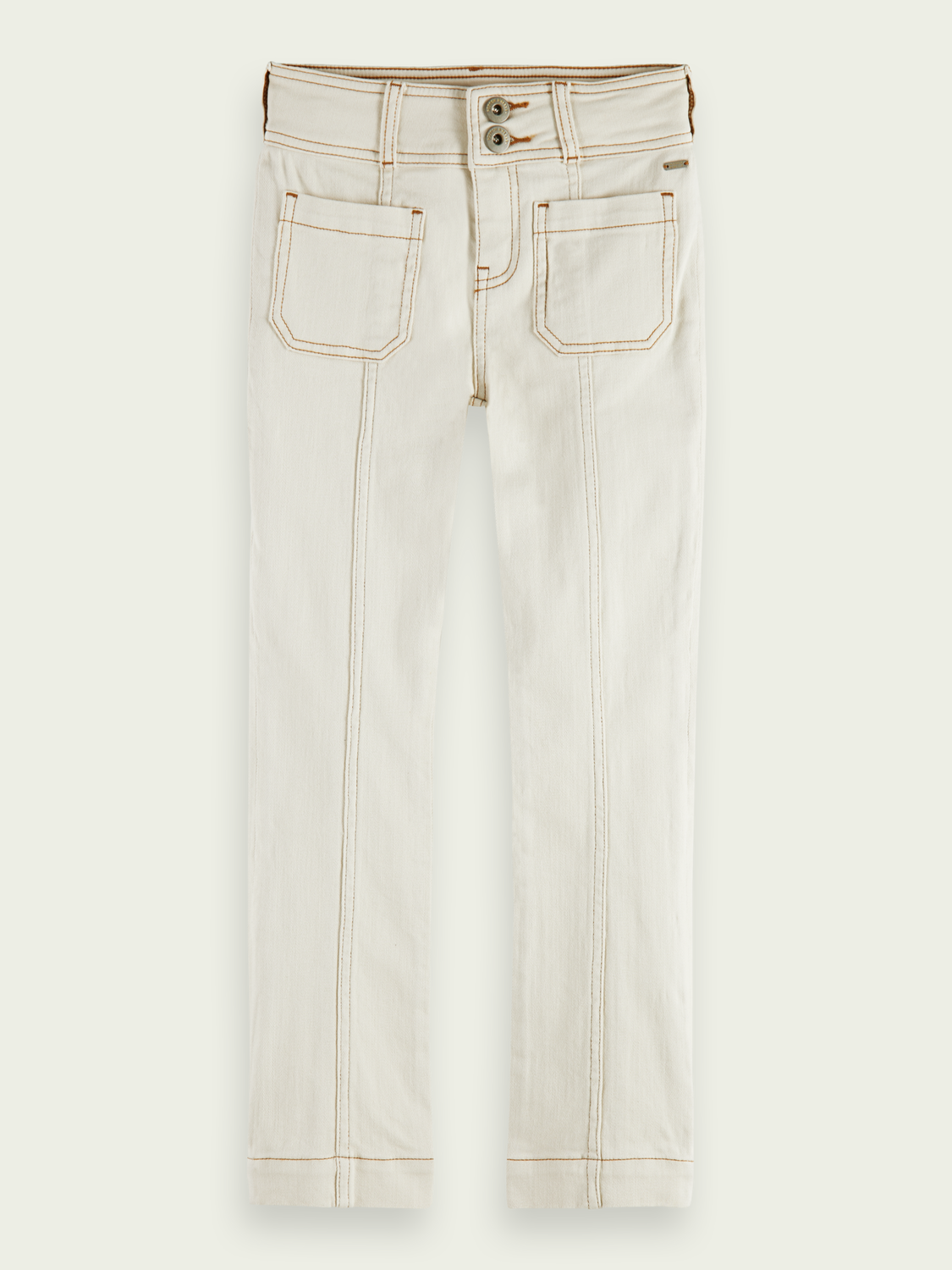 Kids Straight-fit high-rise trousers