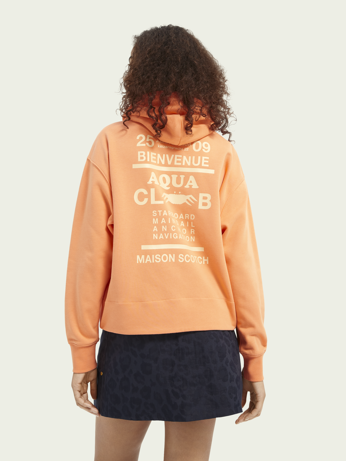 Women Graphic loose fit hoodie