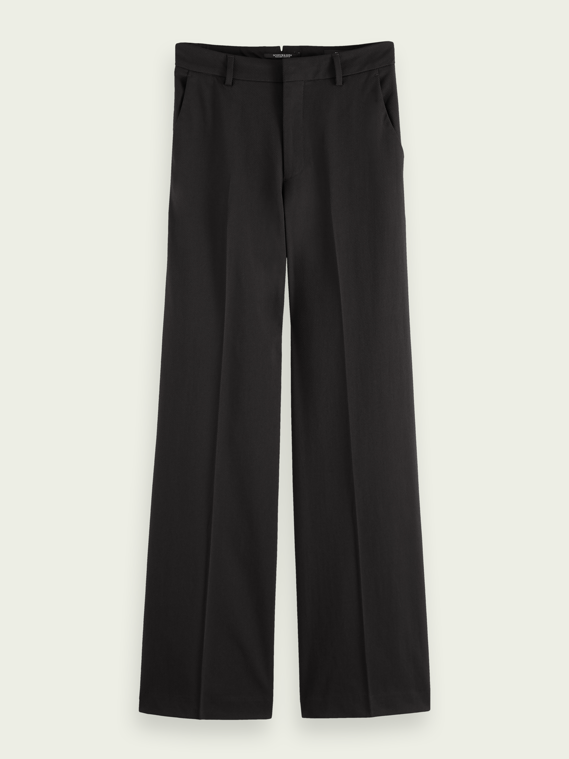 Women Edie wide-leg high-rise recycled polyester-blend trousers