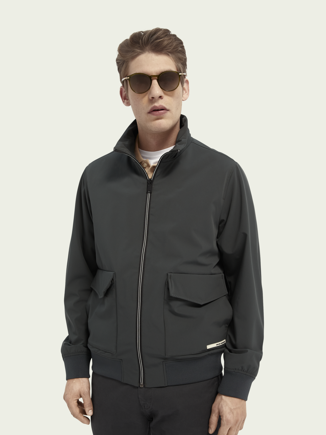 Men Classic bomber jacket