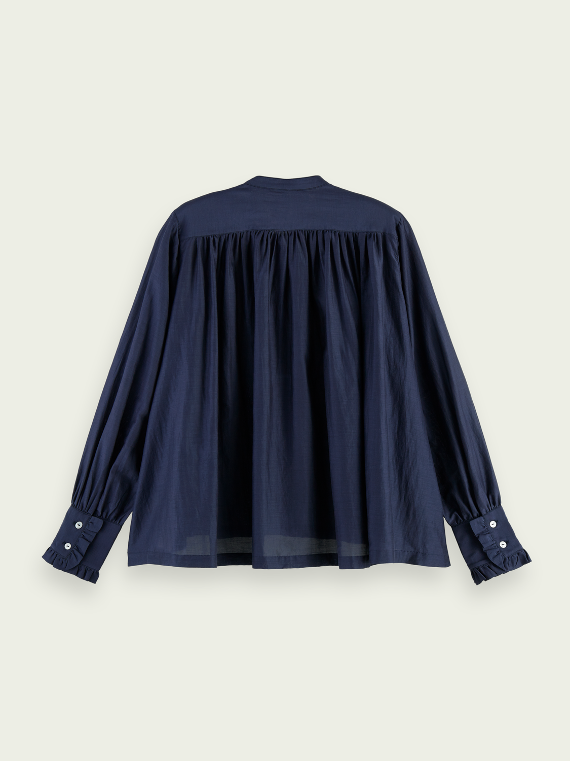 Women Oversized cotton-blend shirt