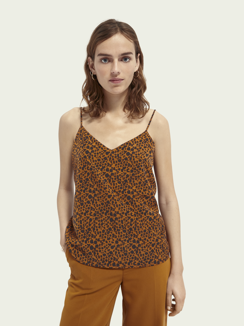 Scotch & Soda COTTON-BLEND CAMISOLE