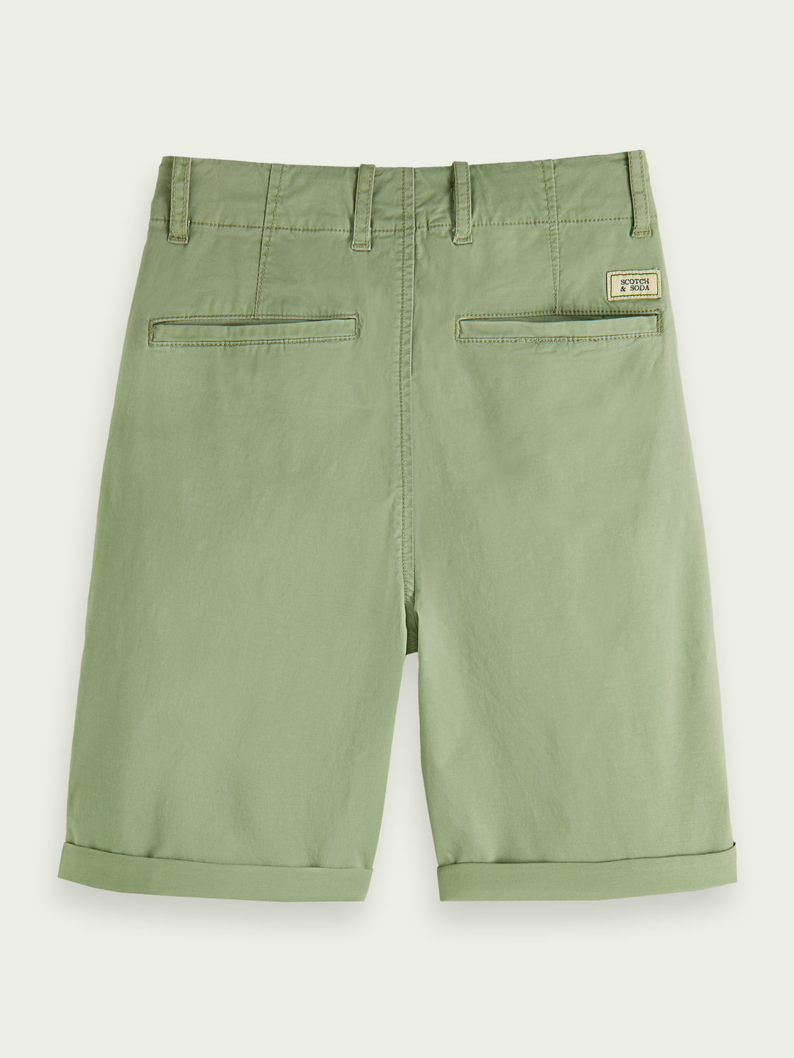 Enfant Short chino en coton - Sea Foam
