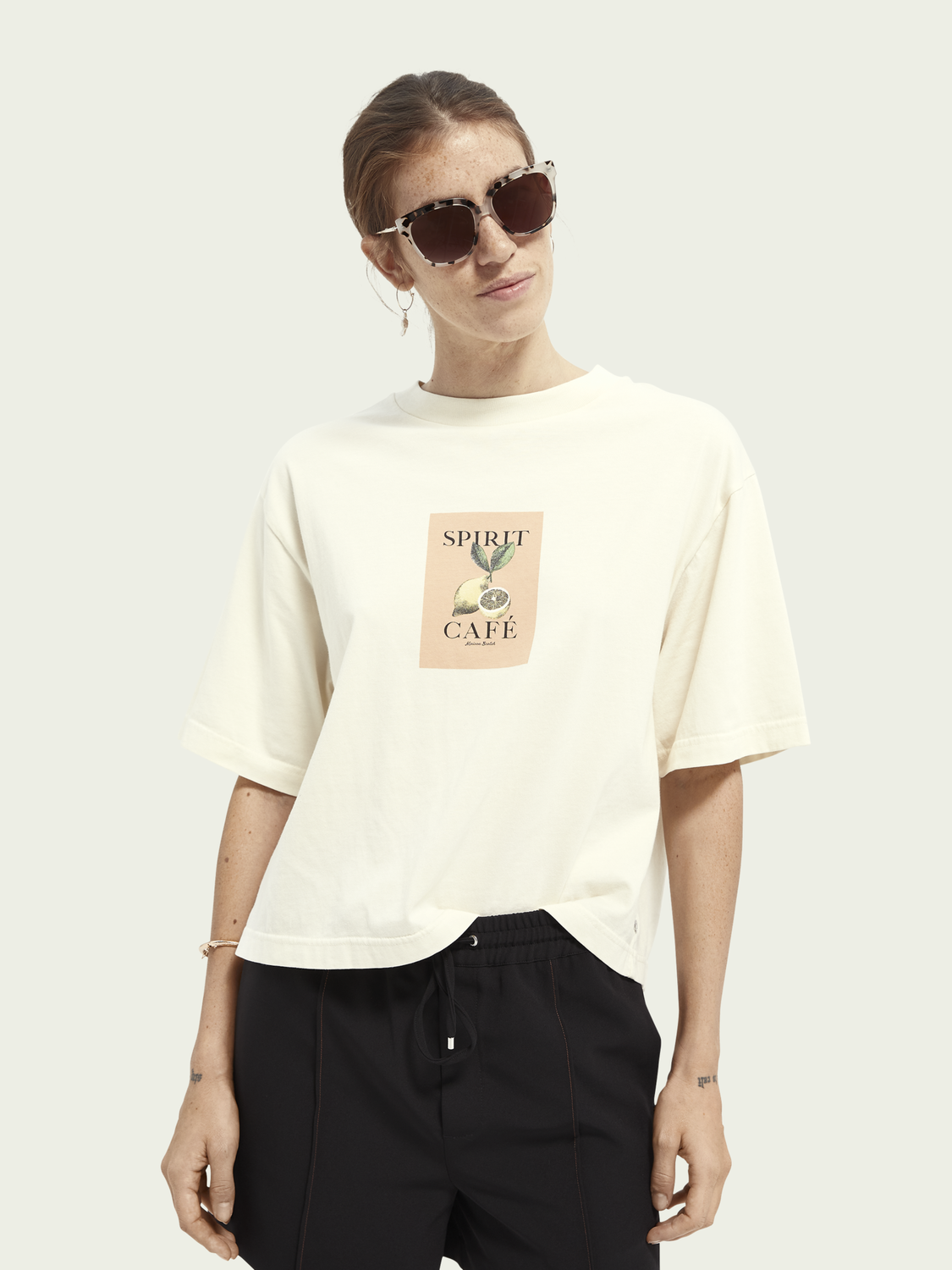 Women Organic cotton graphic T-shirt