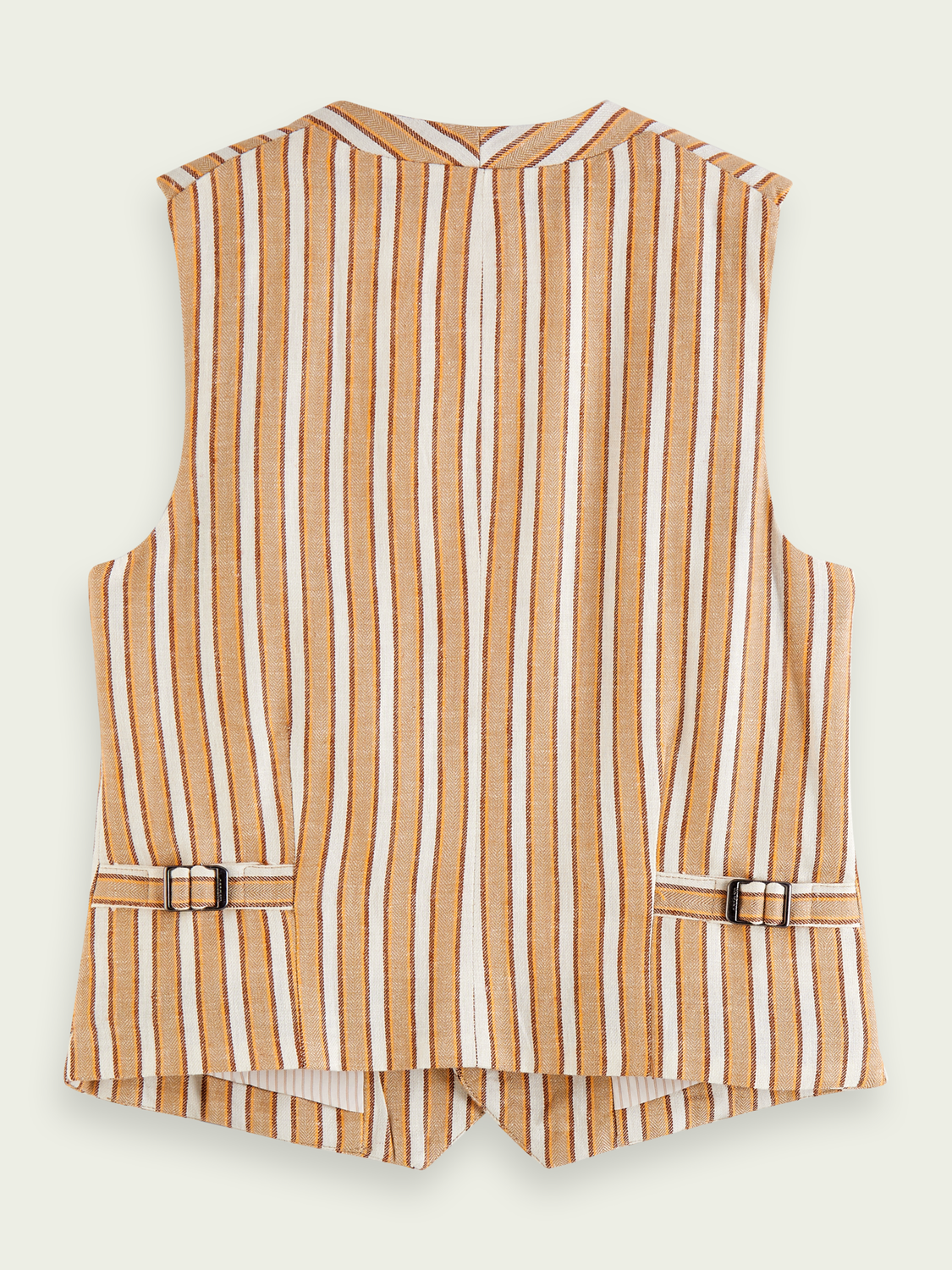 Kids Cotton-linen blend gilet