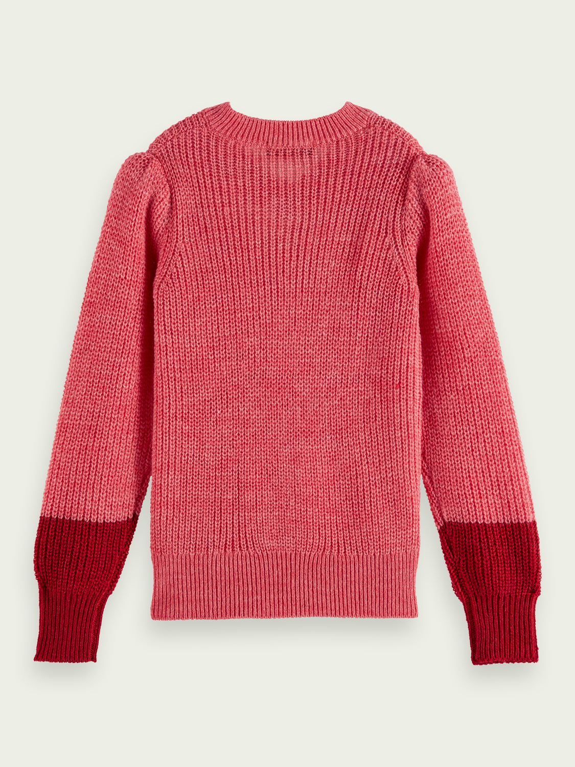 Kids Alpaca-wool blend rib knit jumper