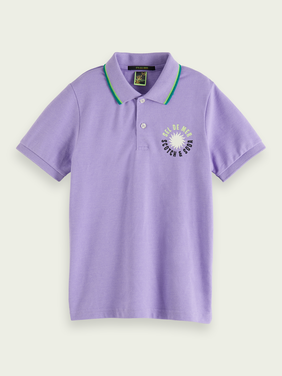 Kinder Kurzärmliges Poloshirt mit Artwork
