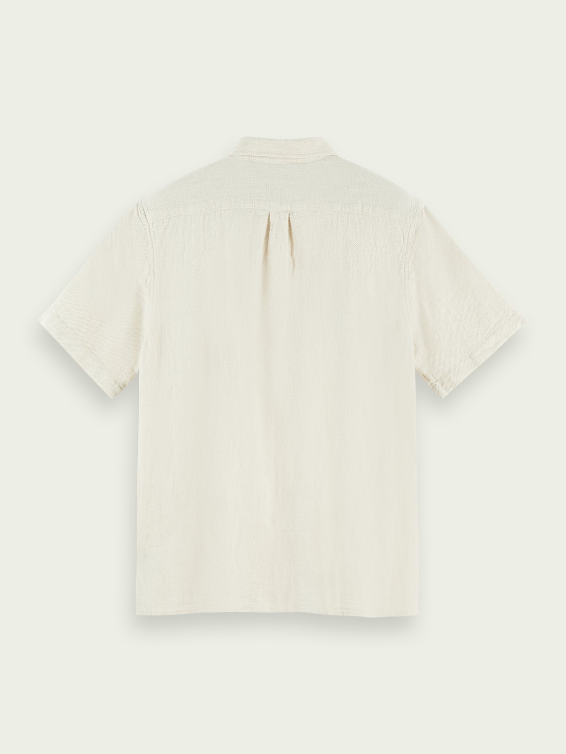 Men Relaxed-fit organic cotton-blend shirt