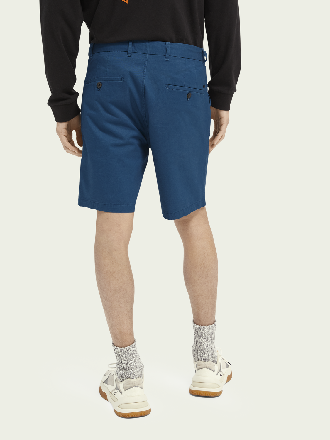 Men Stuart pima cotton short