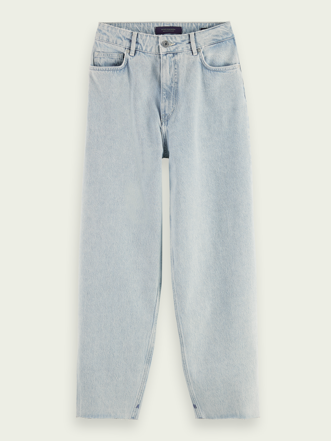 Damen Balloon Fit Jeans aus Baumwolle– Crystalized In Time