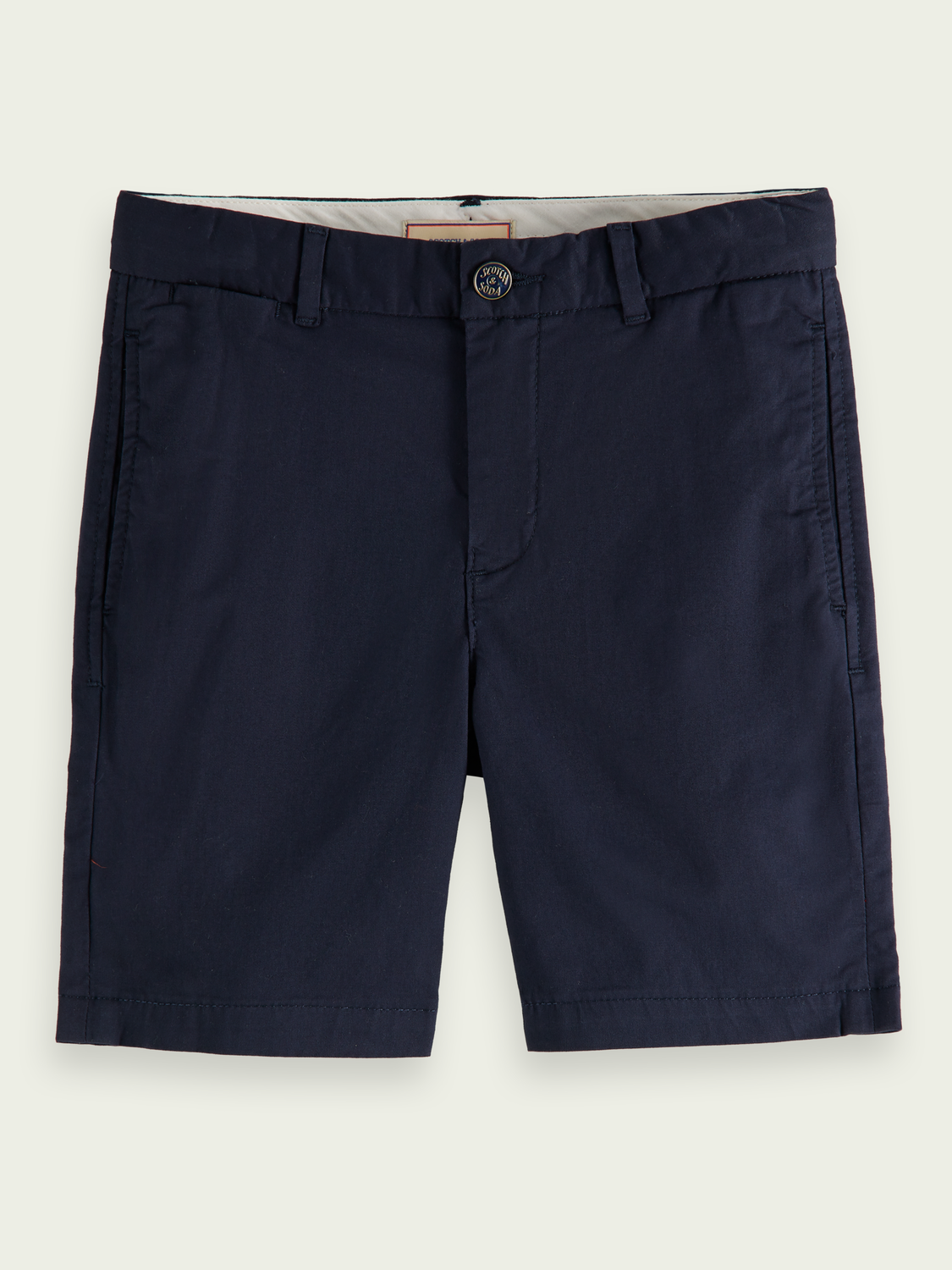 Kids Organic Pima cotton chino shorts