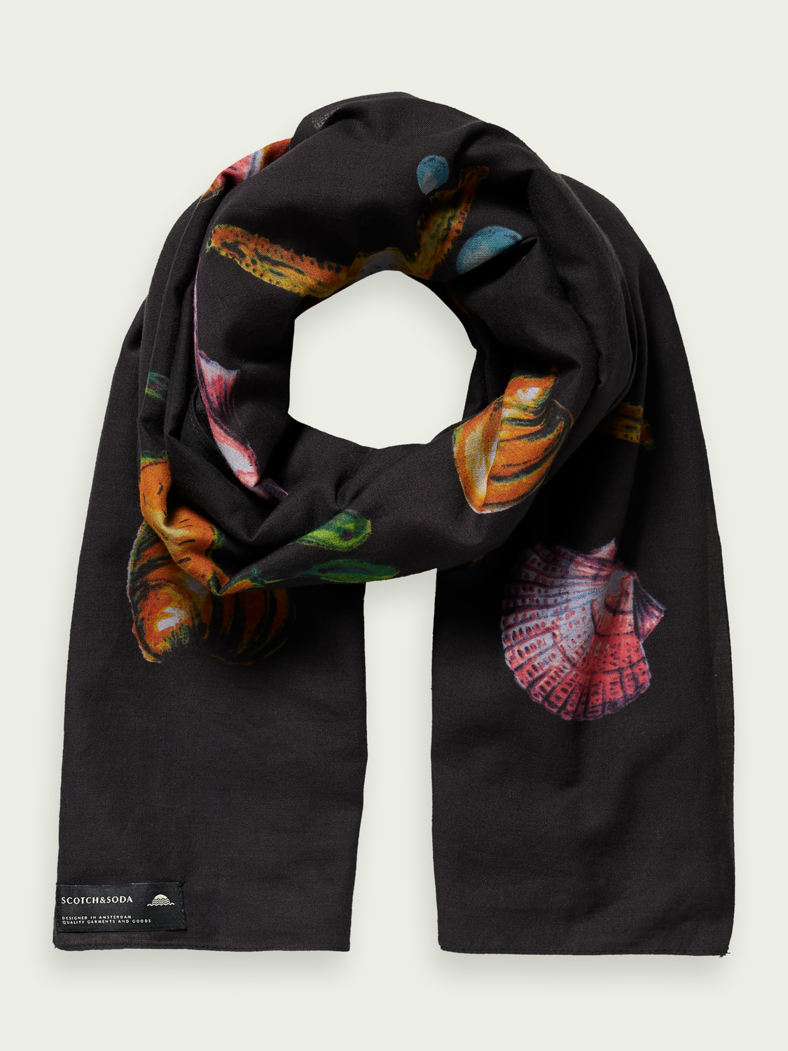 Men Printed beach scarf