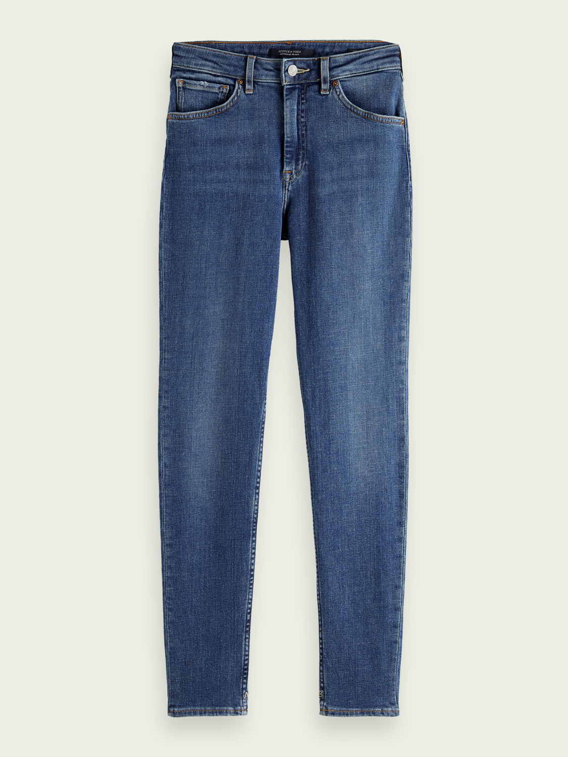 Damen Haut Stretch-Jeans im Used-Look – Time After Time