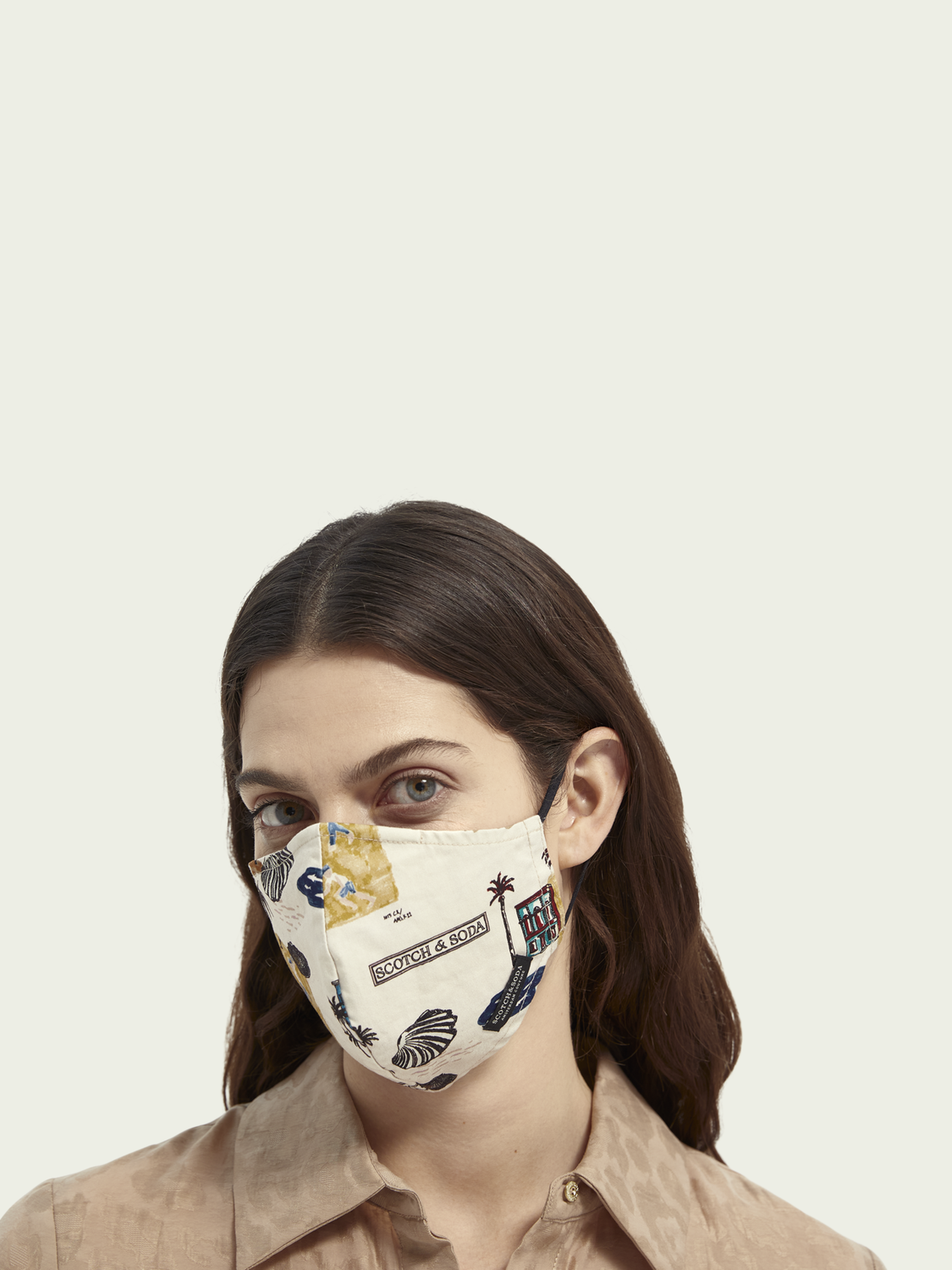 Women Unisex organic cotton facemask